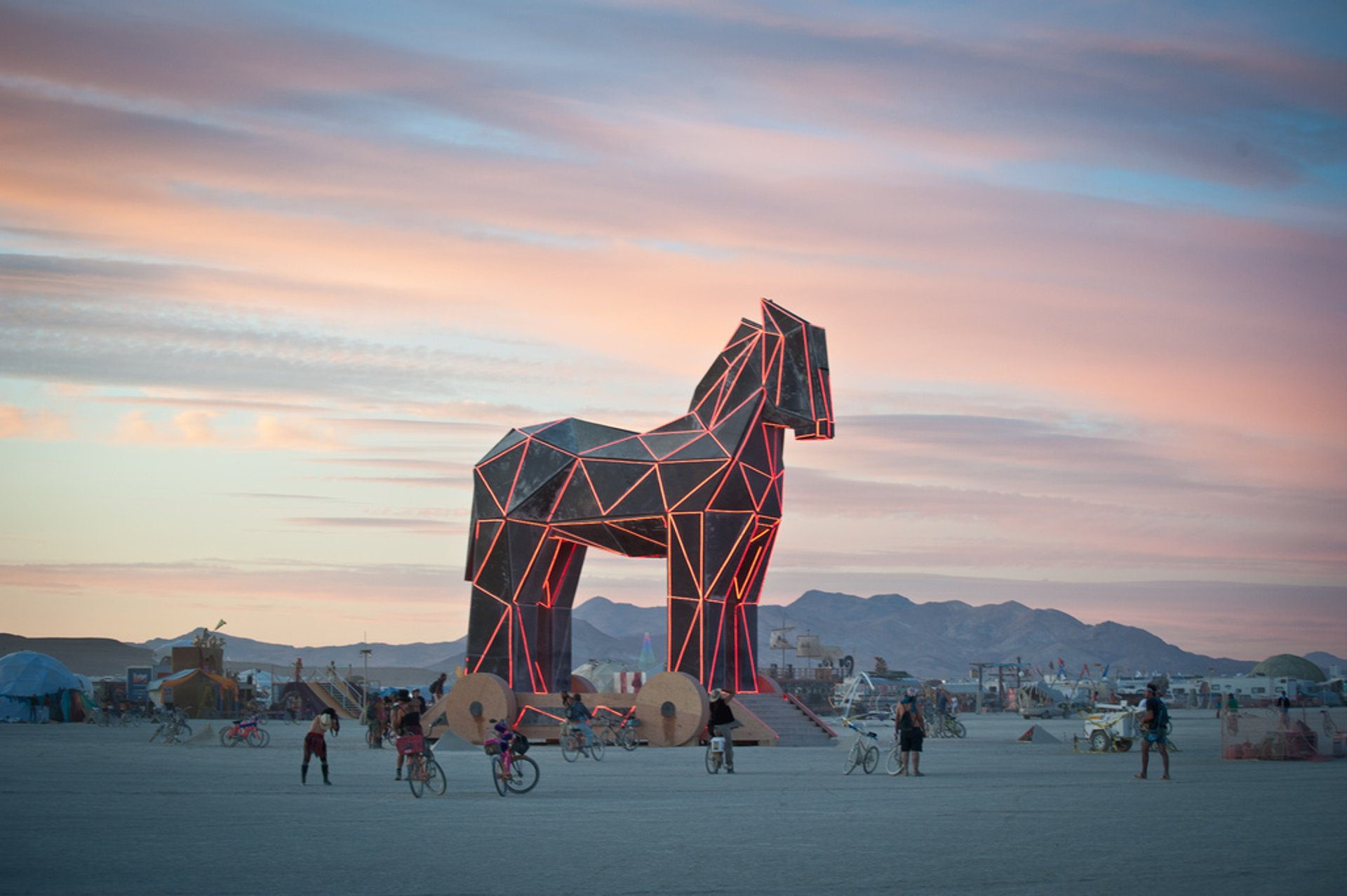 Best time to see Burning Man in Nevada 2020