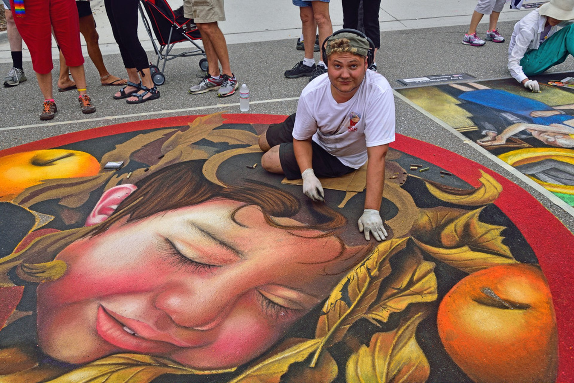 Best time for Chalk Festival in Venice in Florida 2019