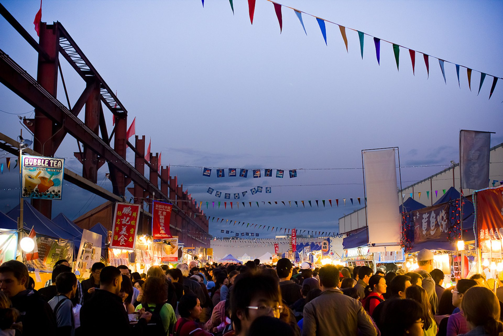 Richmond Night Market in Vancouver 2020