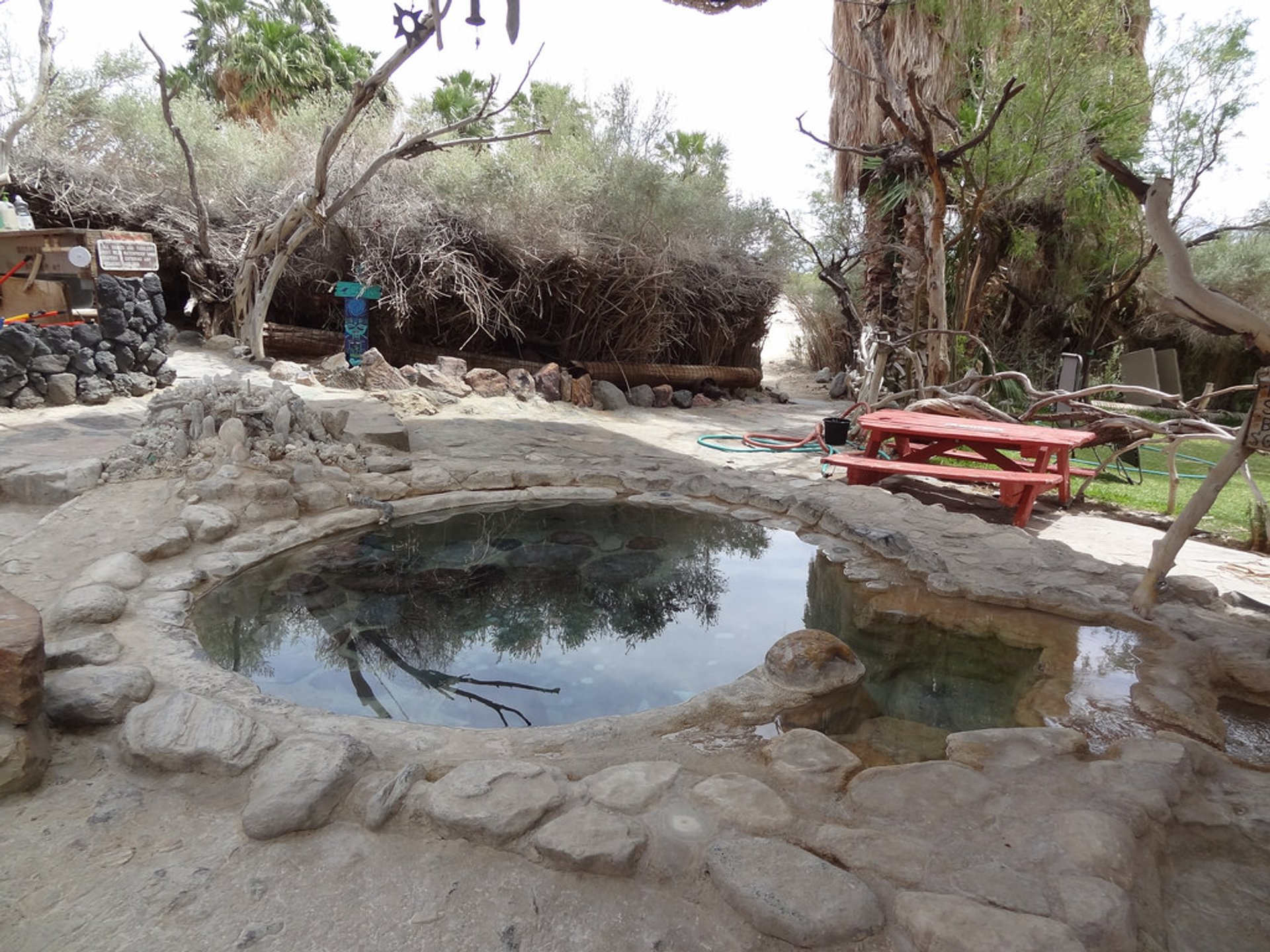 Best time for Saline Valley Hot Springs in Death Valley