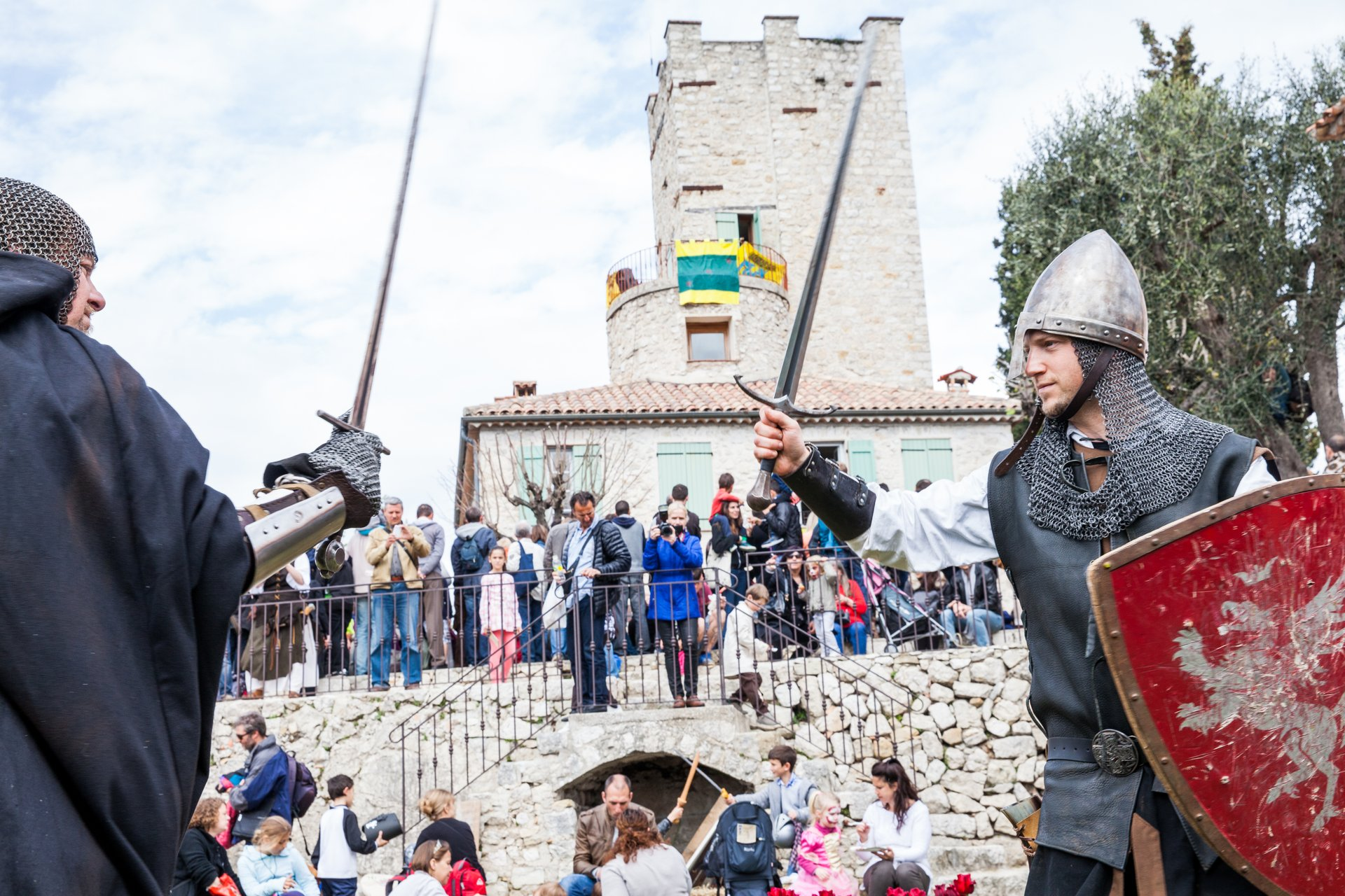 Best time for Tourrette-Levens Medieval Festival in Provence & French Riviera 2020
