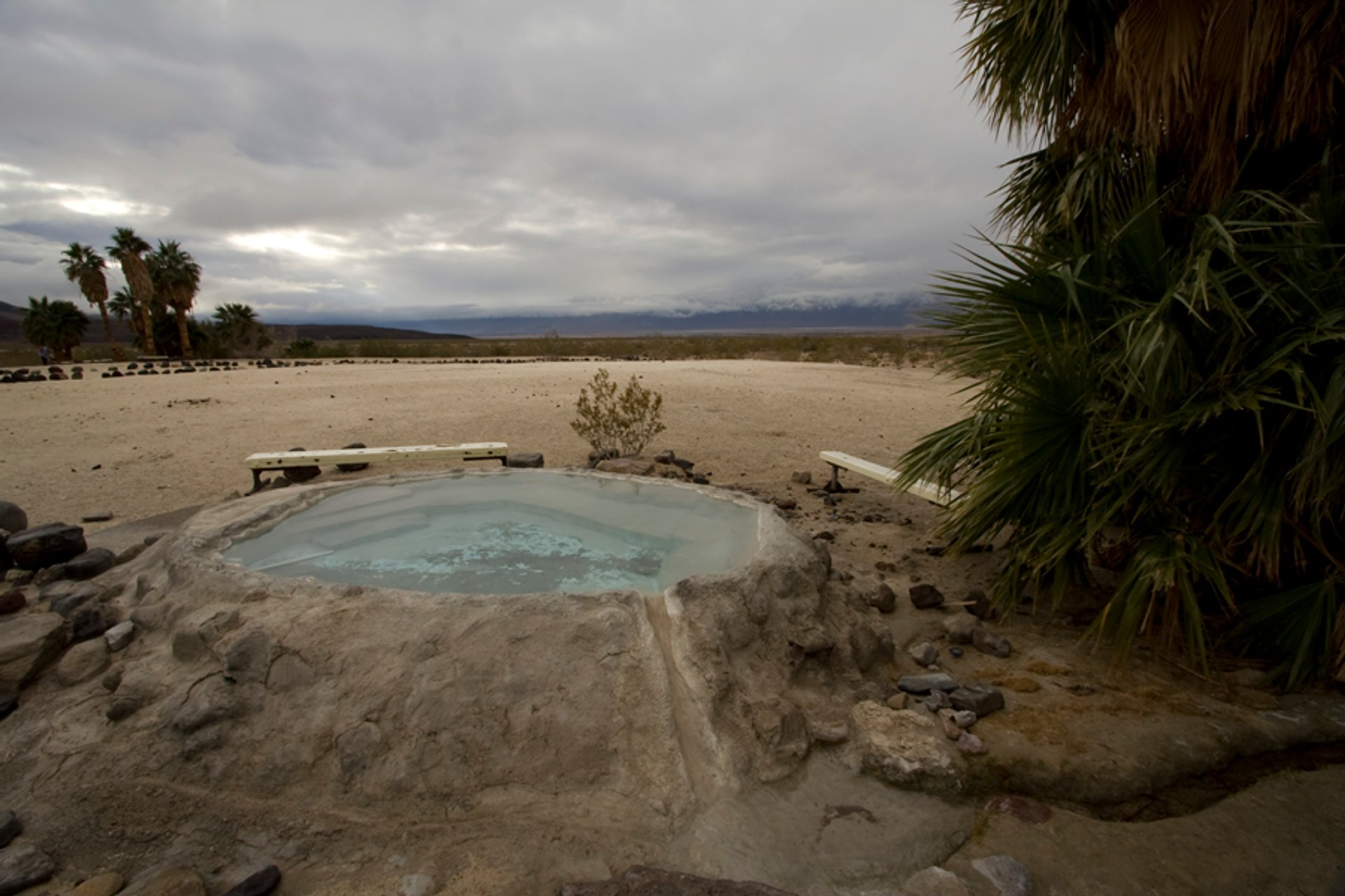 Saline Valley Hot Springs in Death Valley - Best Season 2020