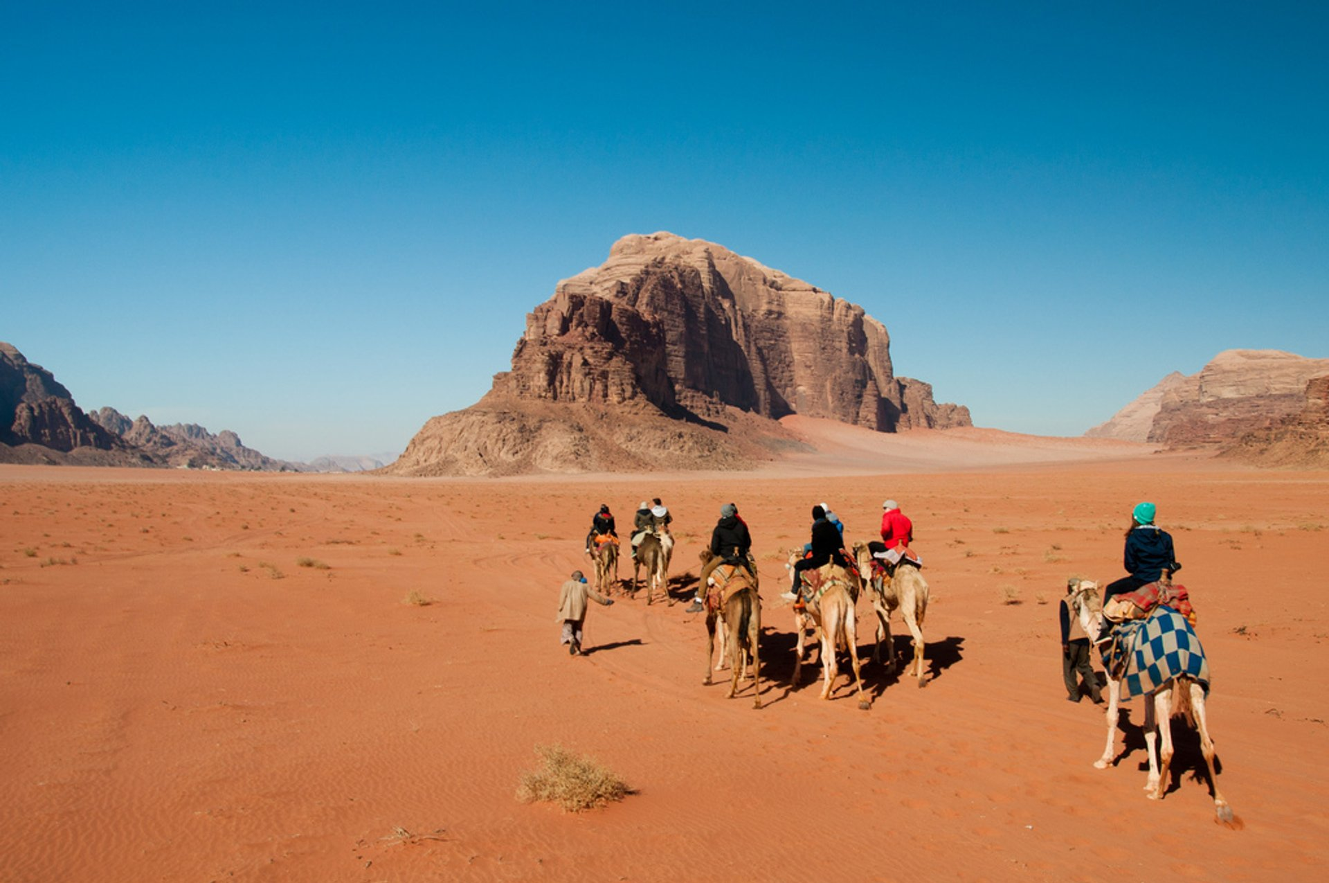 Best time for Camel Safari in Jordan 2020