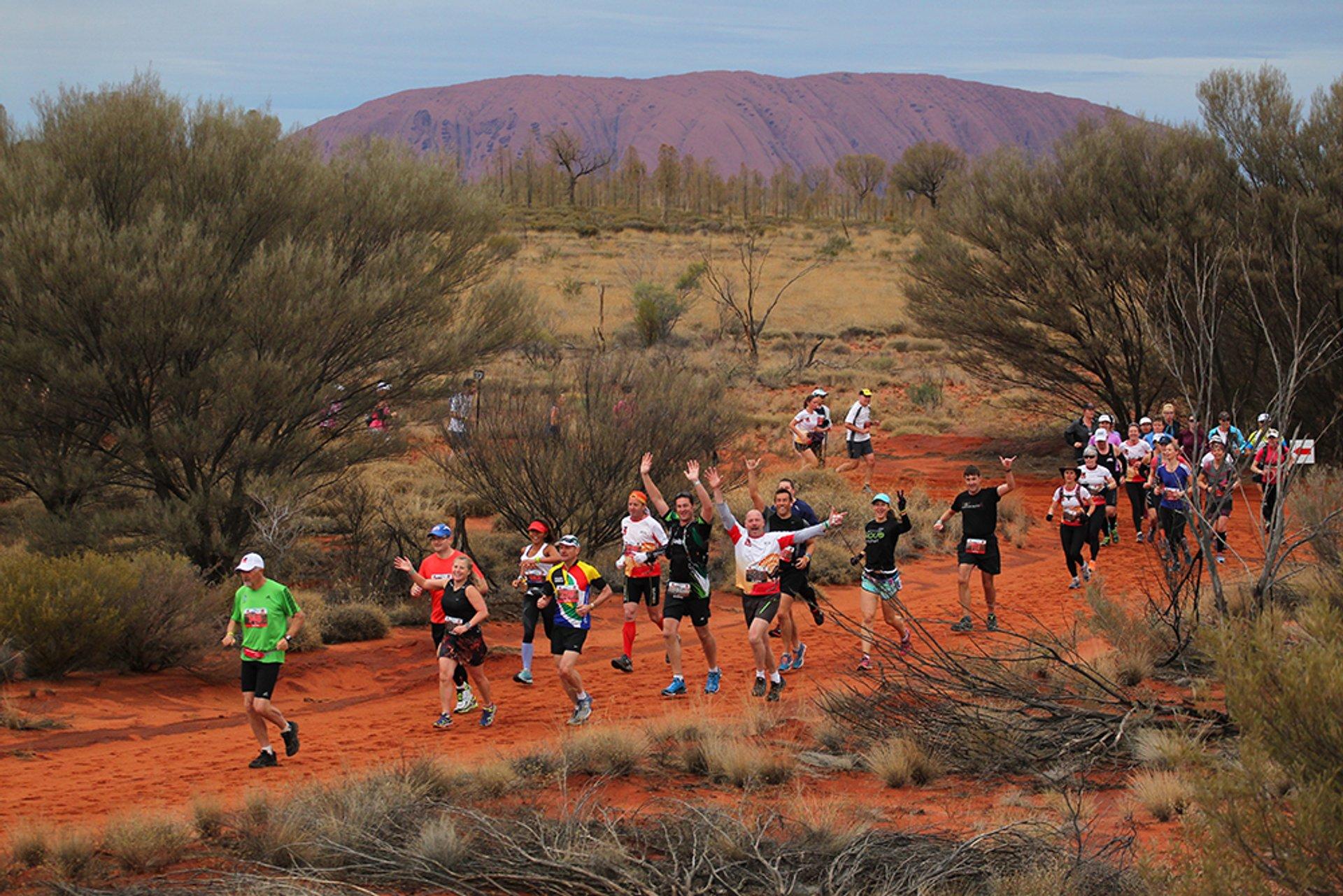 Best time for Australian Outback Marathon in Australia 2020