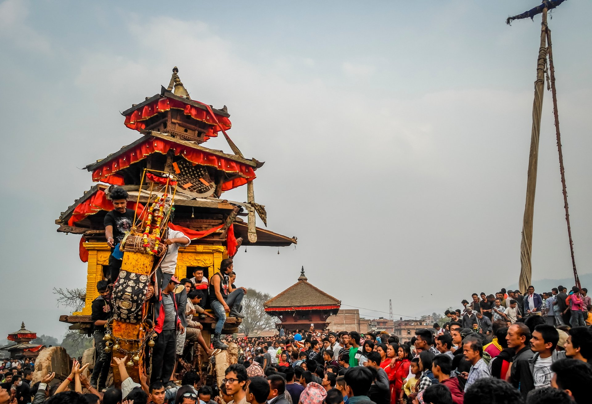 Bisket Jatra (Nepali New Year) in Nepal 2020 - Best Time