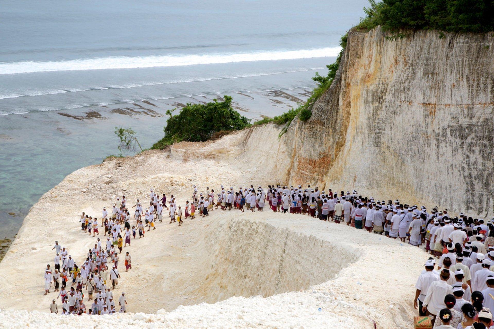 Melasti Procession, Bali 2020
