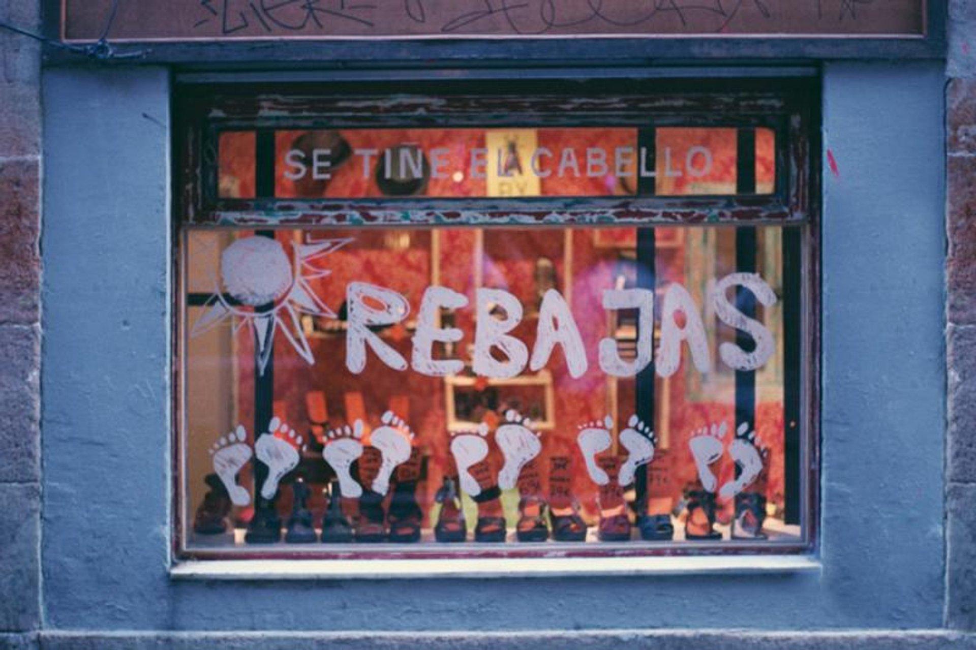 Rebajas or Sales in Barcelona - Best Season 2020