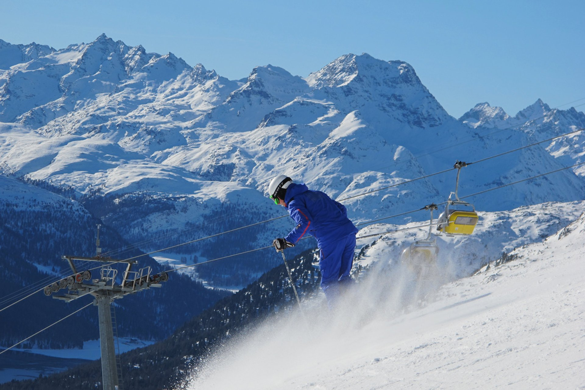 Best time to see Skiing and Snowboarding in Switzerland