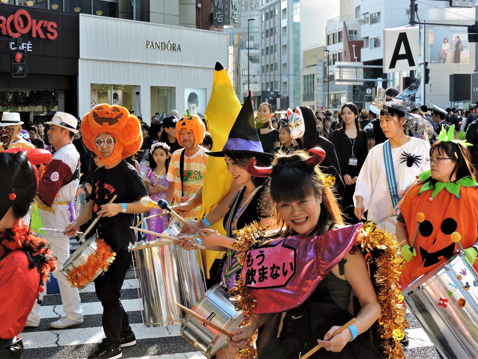Omotesando Harajuku Hello Halloween Pumpkin Parade, Tokyo 2020