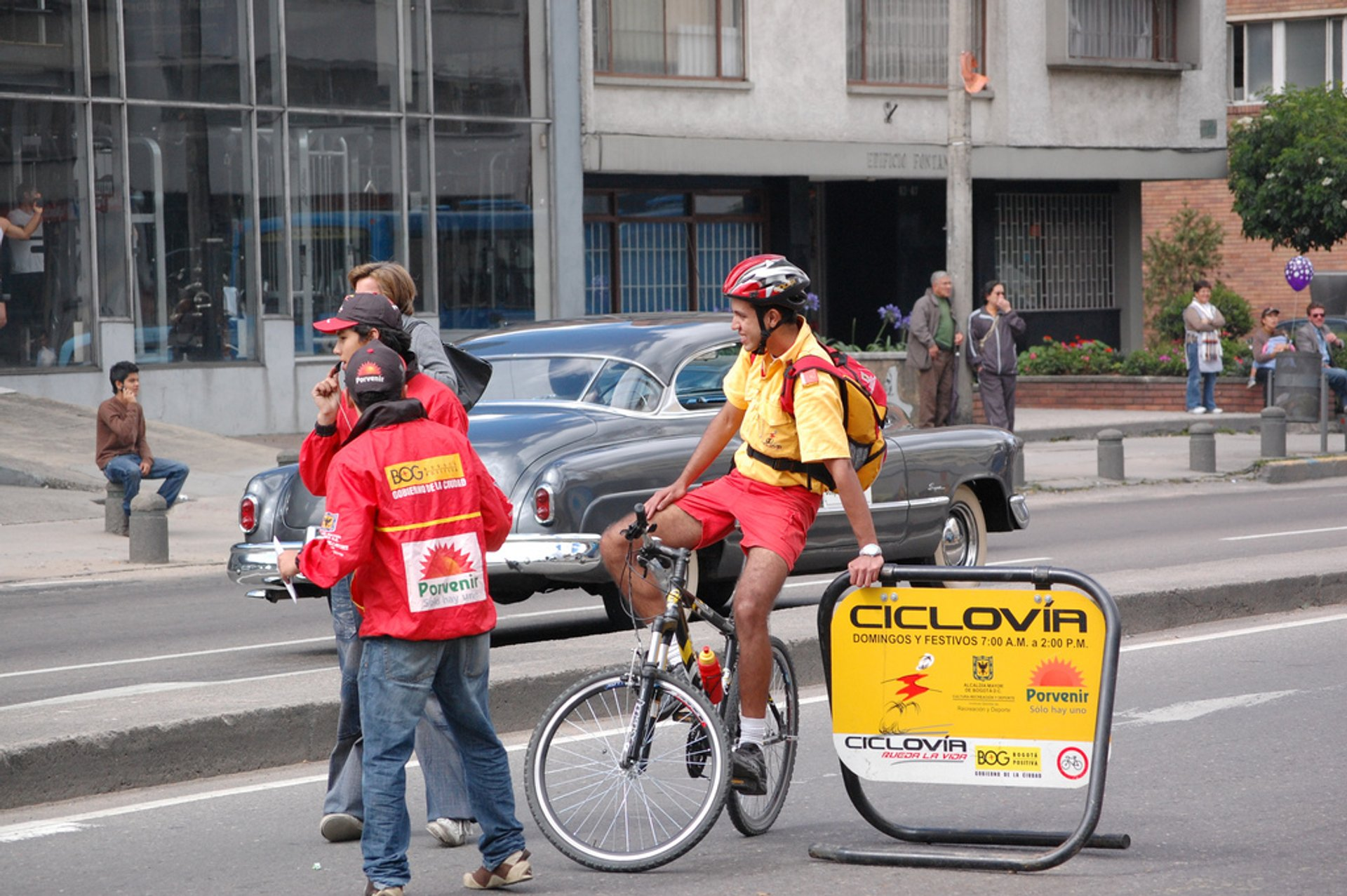 Sunday Ciclovía in Bogota in Colombia - Best Season 2020