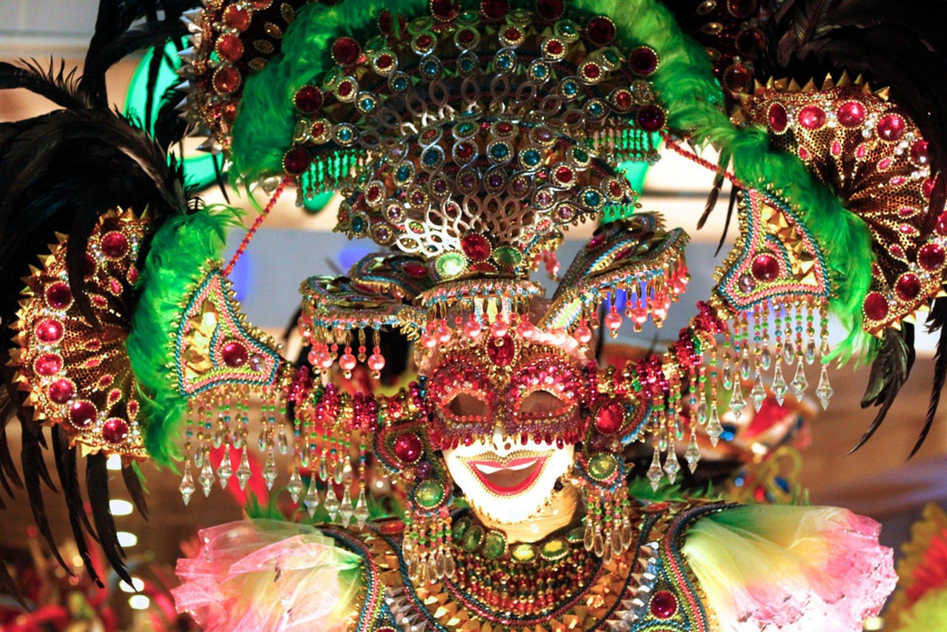 Best time for MassKara Festival in Philippines 2020