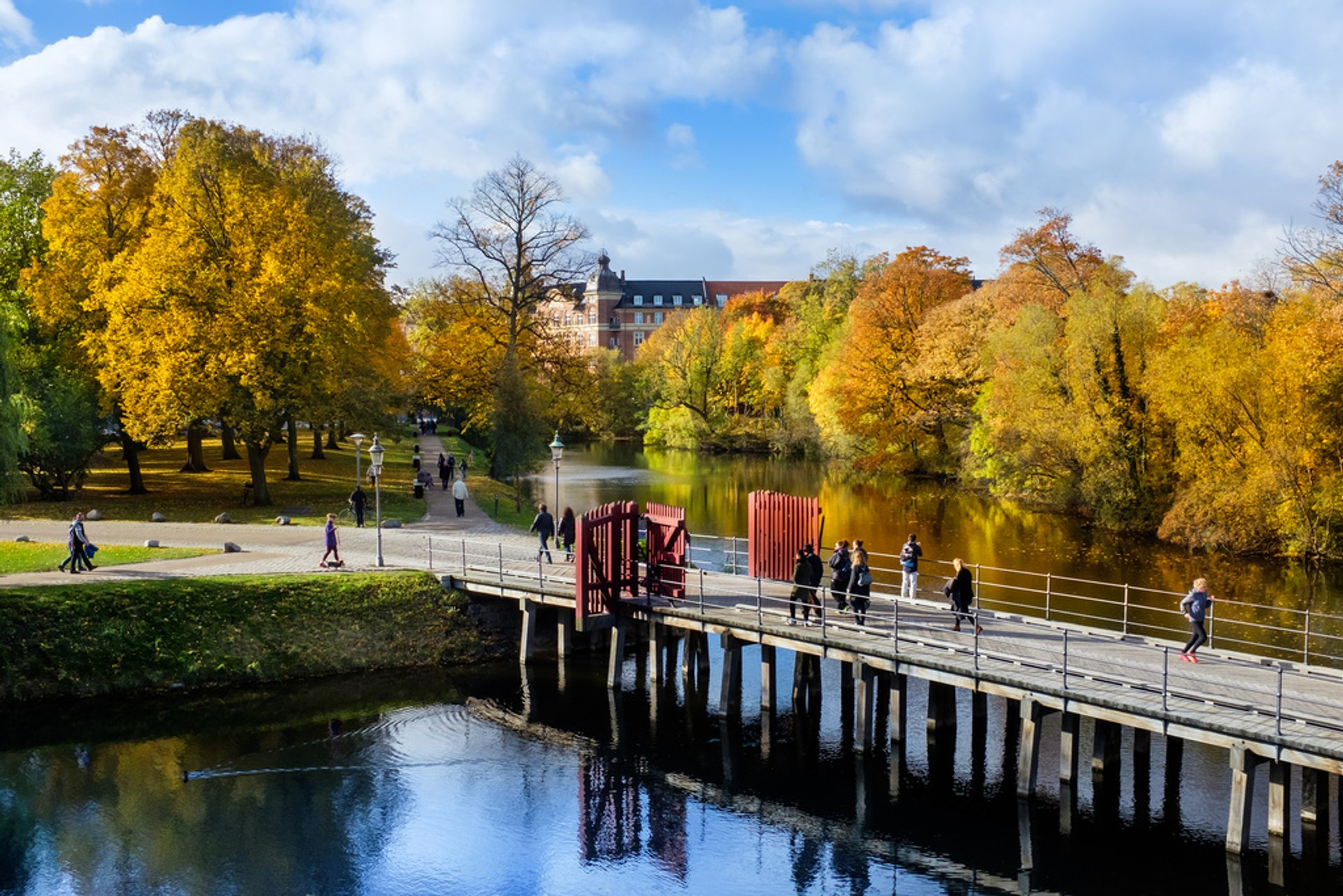 Kastellet in autumn 2020