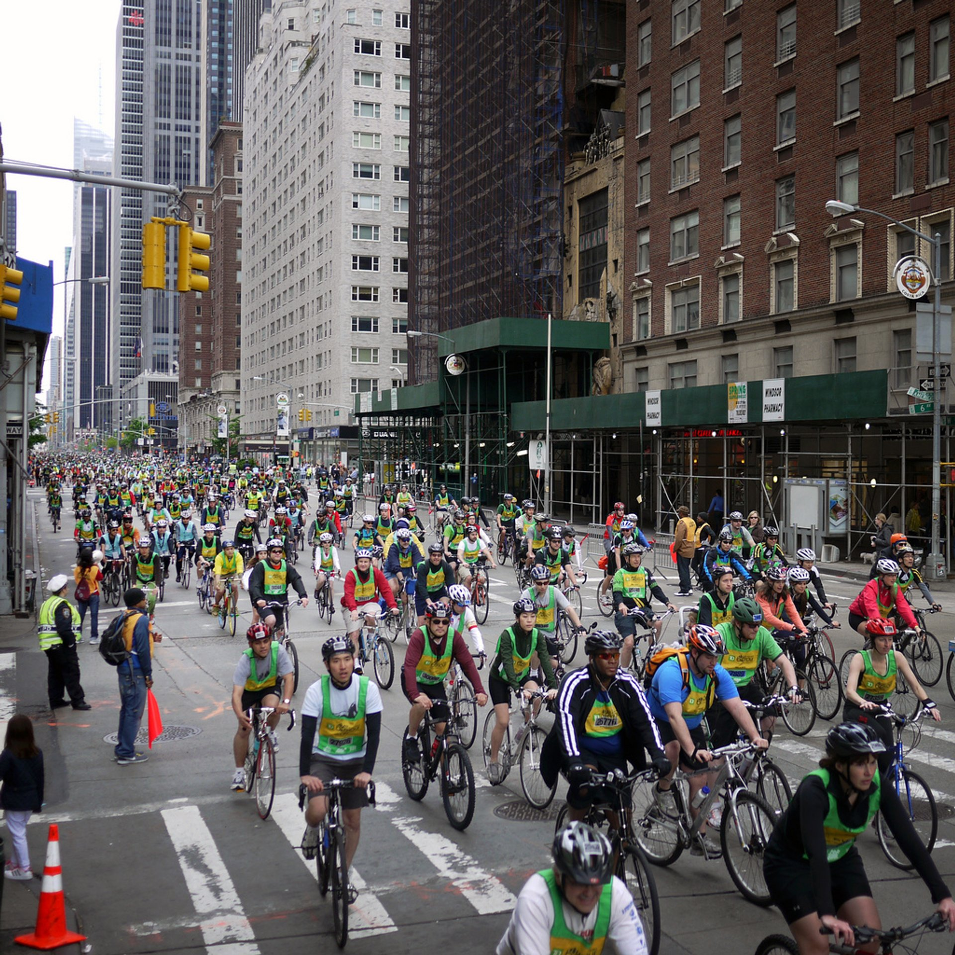 Best time for Five Boro Bike Tour in New York 2019