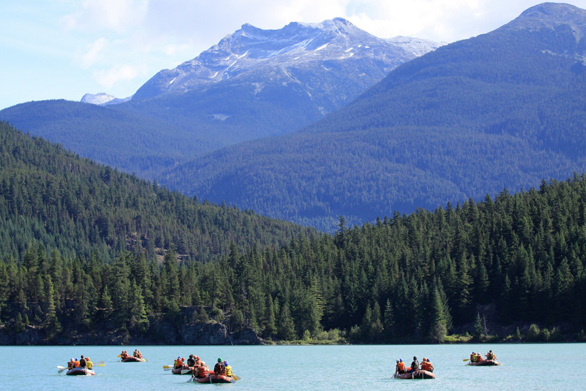 Green River Whitewater Rafting @ Whistler 2020