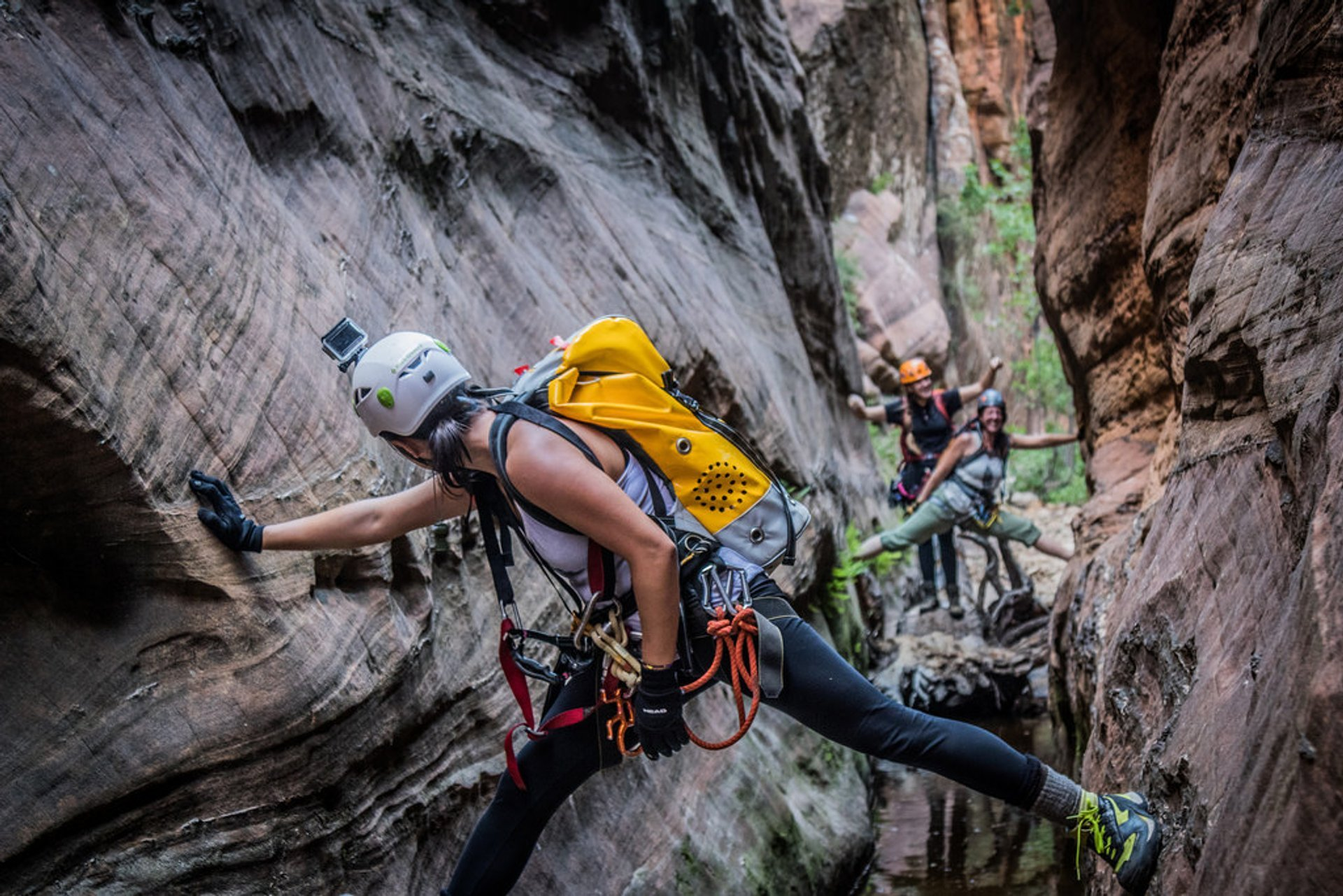 Best time for Canyoneering in Zion National Park in Utah 2019