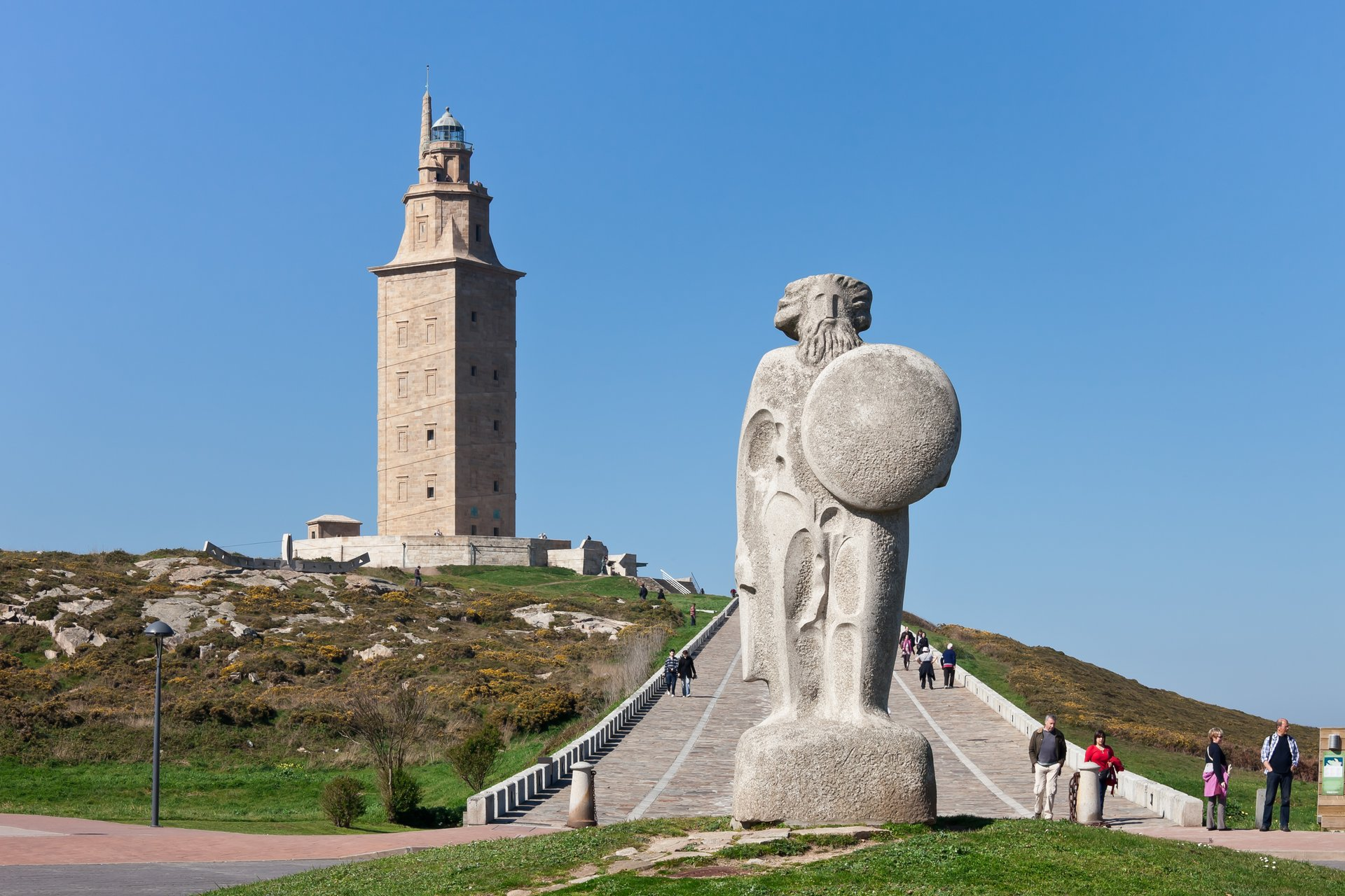 Best time for Tower of Hercules in Spain