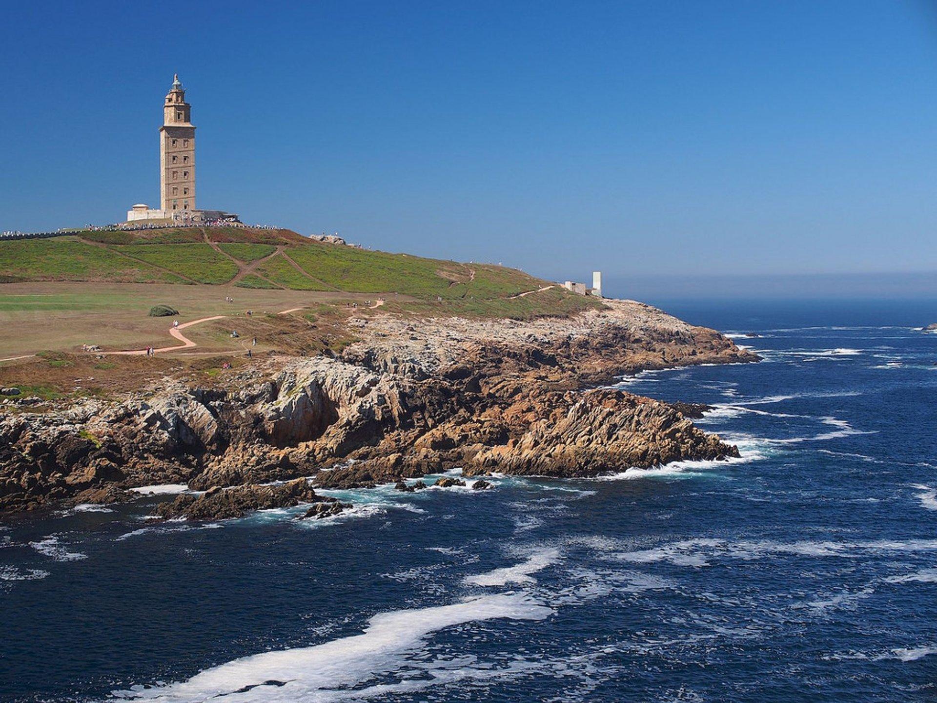 Tower of Hercules in Spain - Best Time