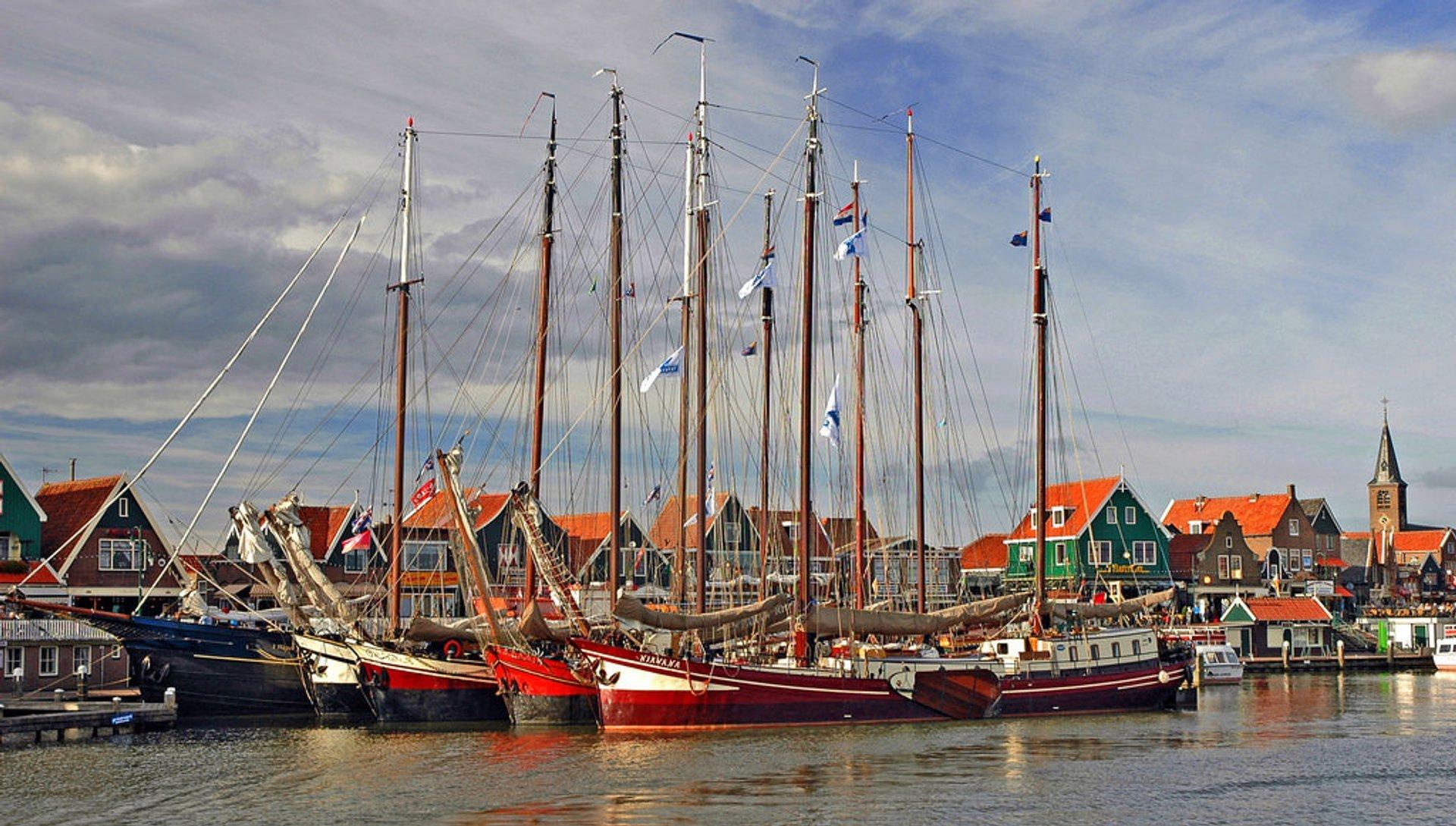 Volendam, Netherlands 2019