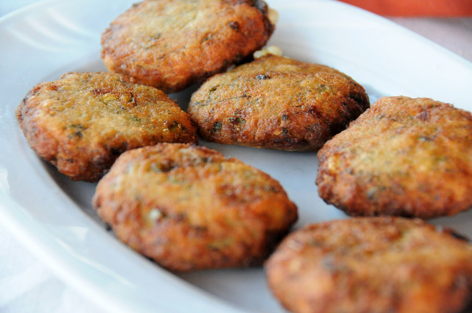 Courgette Balls or Kolokythokeftedes in Athens - Best Season 2020