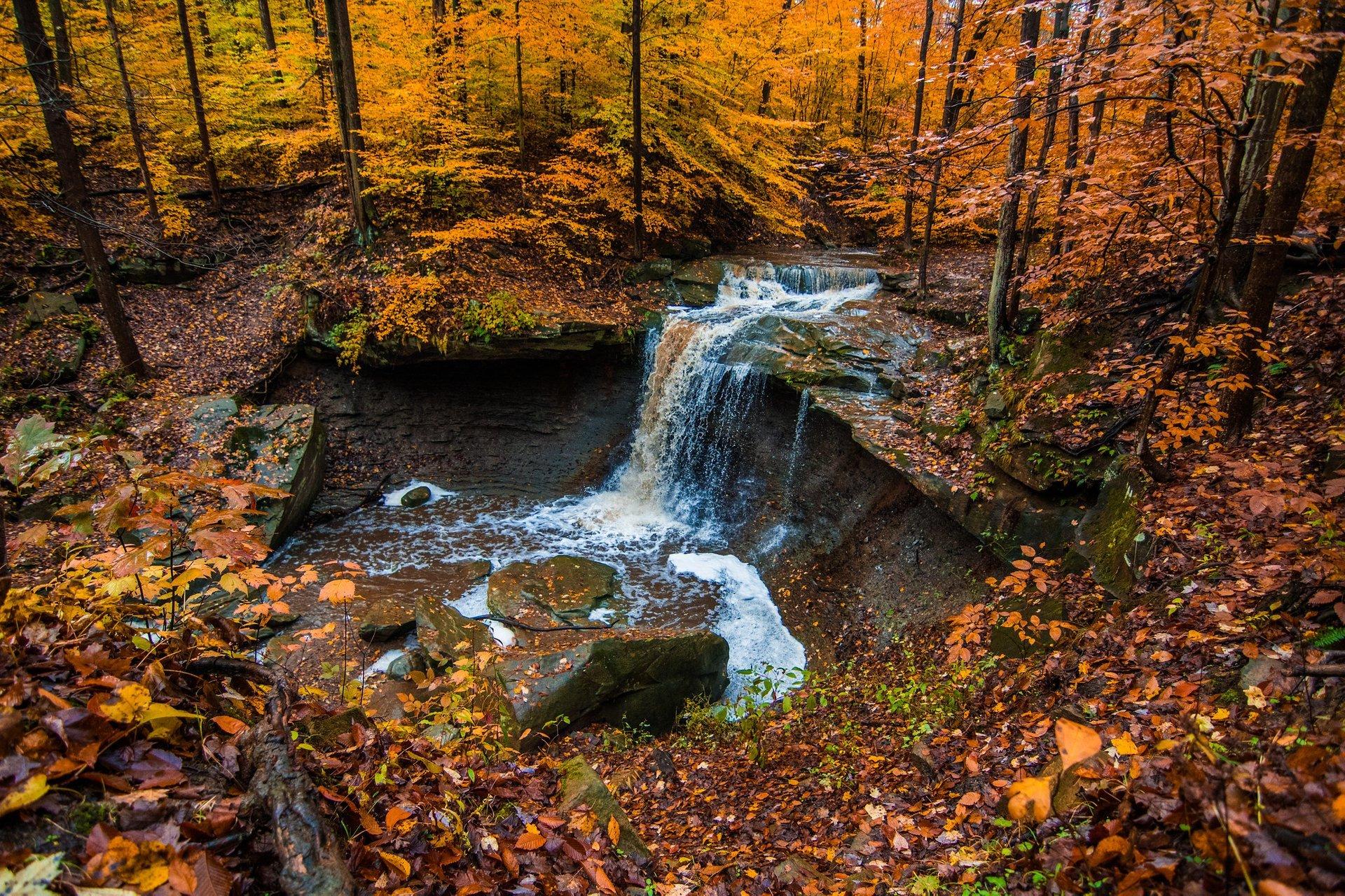 Blue Hen Falls, Cuyahoga Valley National Park 2020