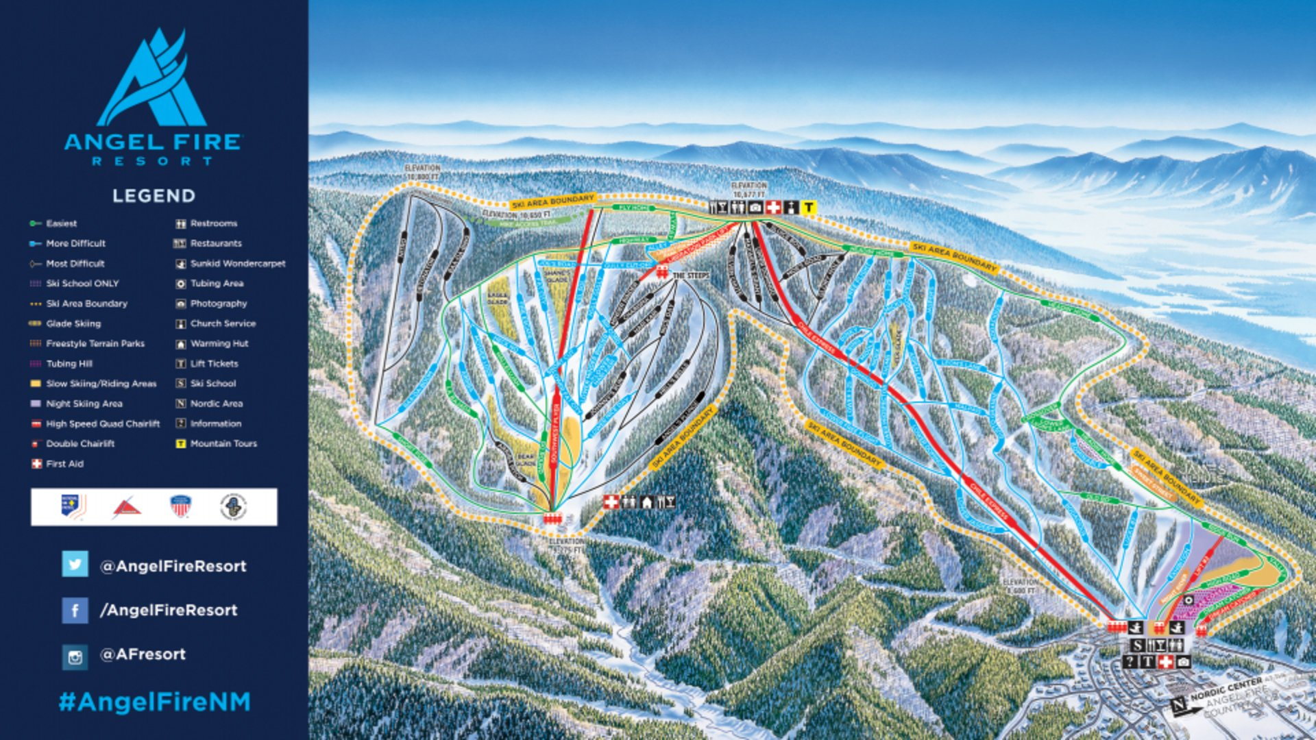 Best time to see Skiing and Snowboarding in New Mexico 2020