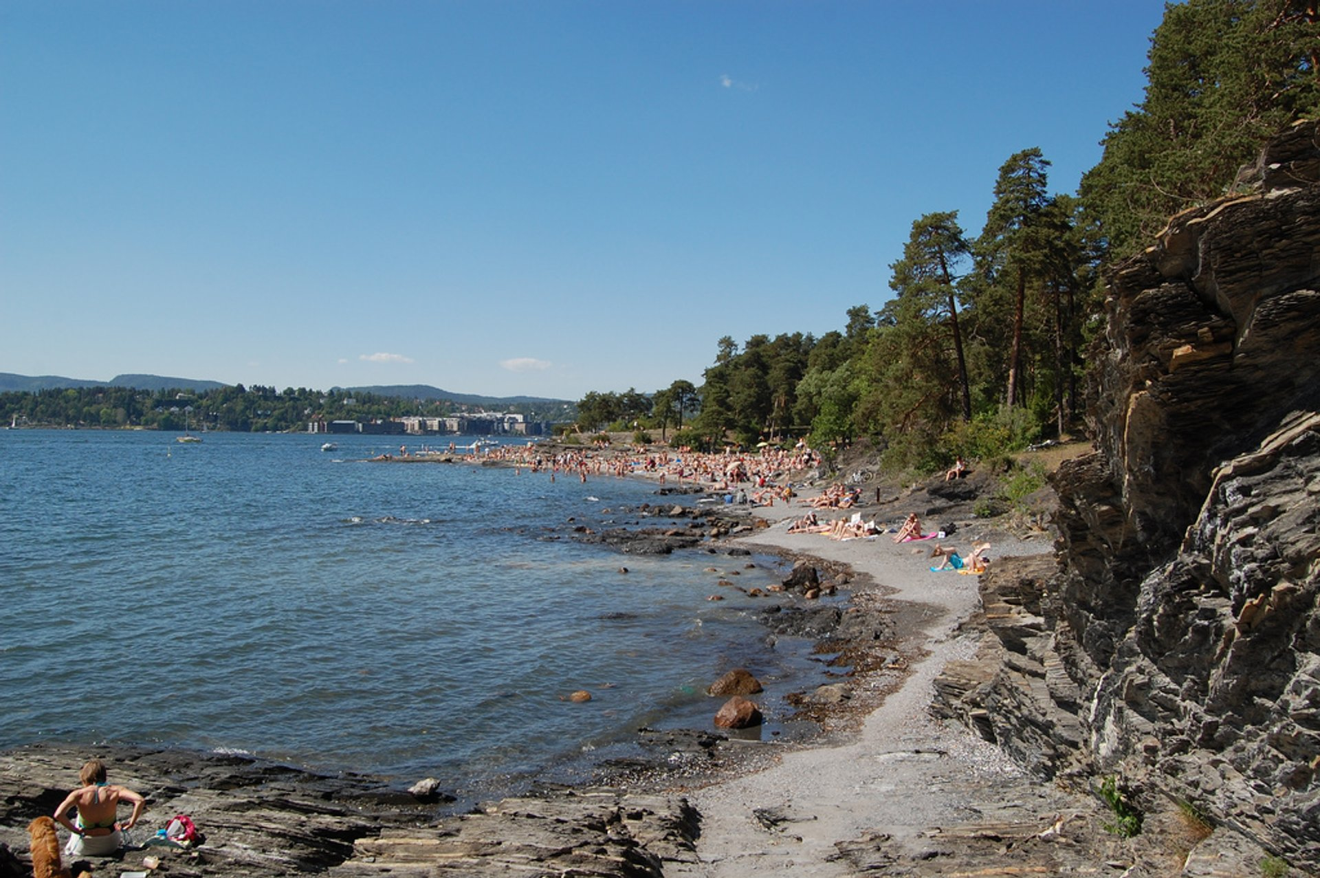 "The picture is from Bygdøy, the beautiful and pittoresque ""in town"" peninsula where many of the most popular museums and other tourist attractions are 2020"