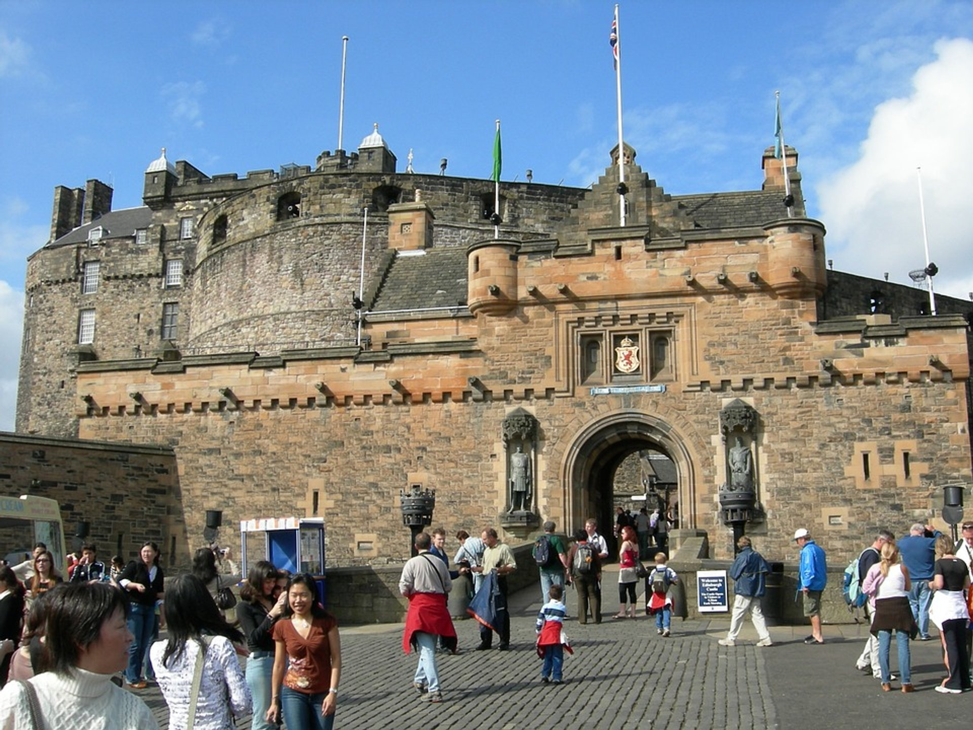 Best time for Edinburgh Castle in Edinburgh 2019