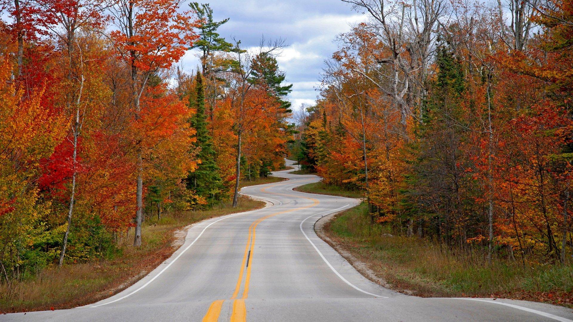 Wisconsin Highway 42 in Door County 2020