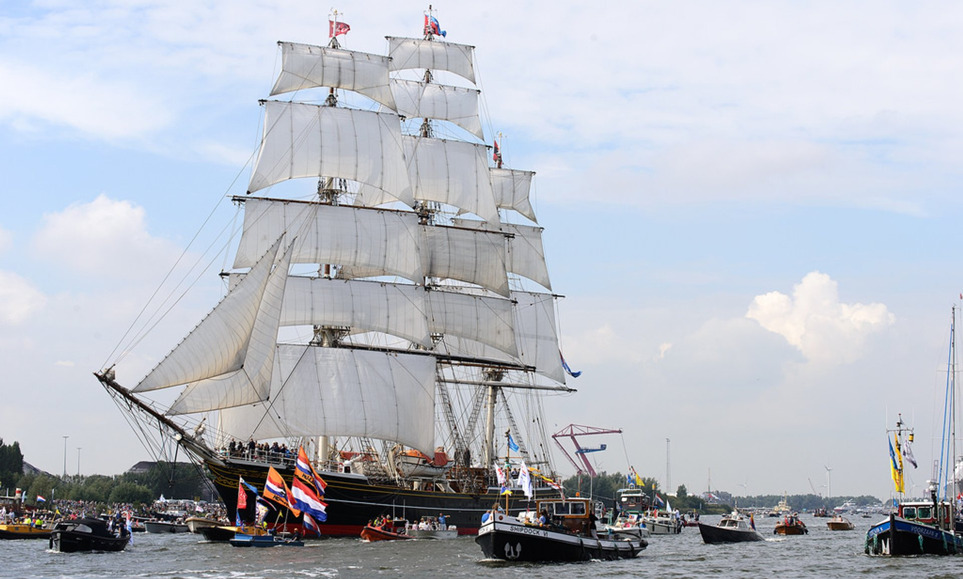 Sail Amsterdam in The Netherlands 2020 - Best Time