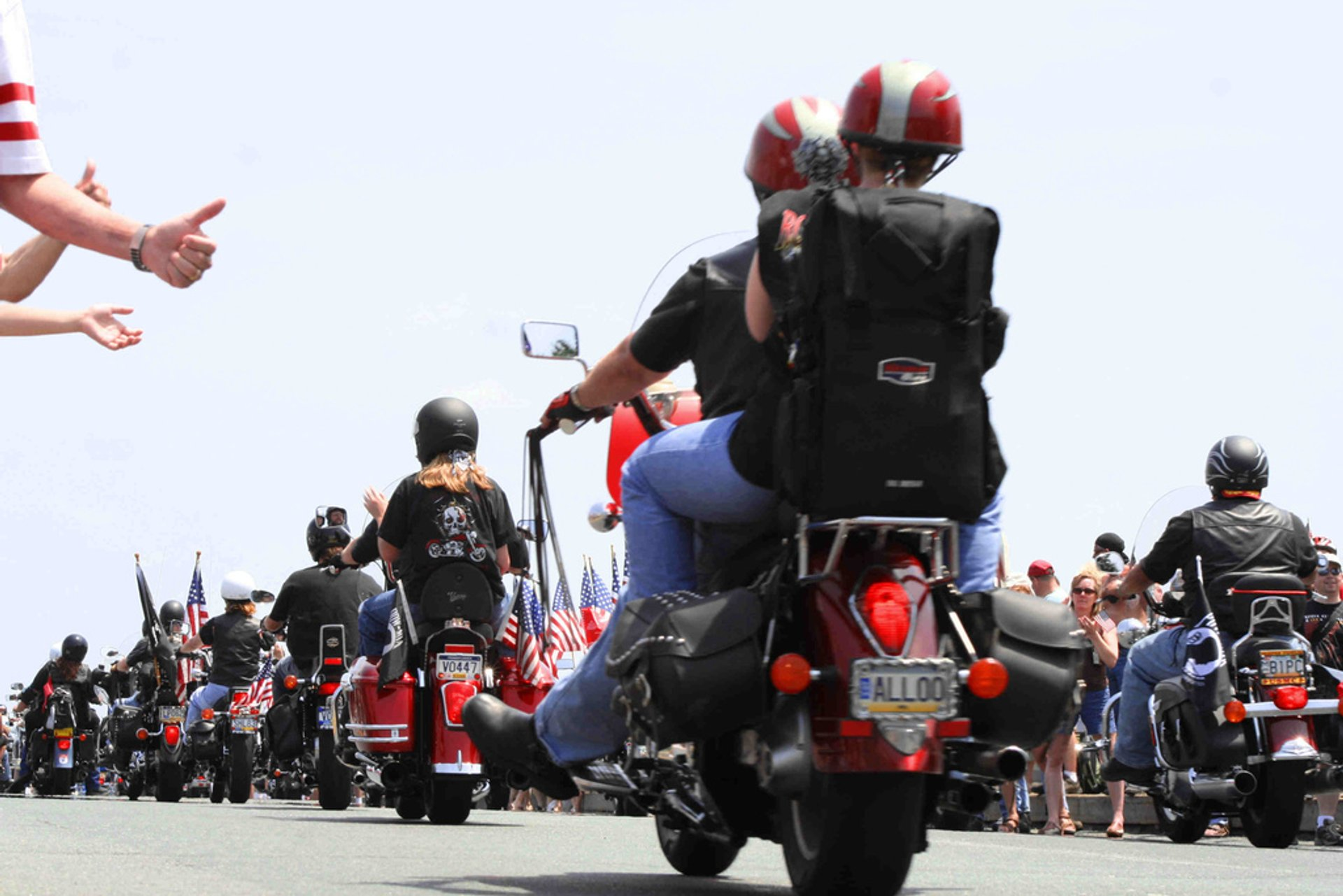 Best time to see Rolling Thunder 'Ride for Freedom' in Washington, D.C.