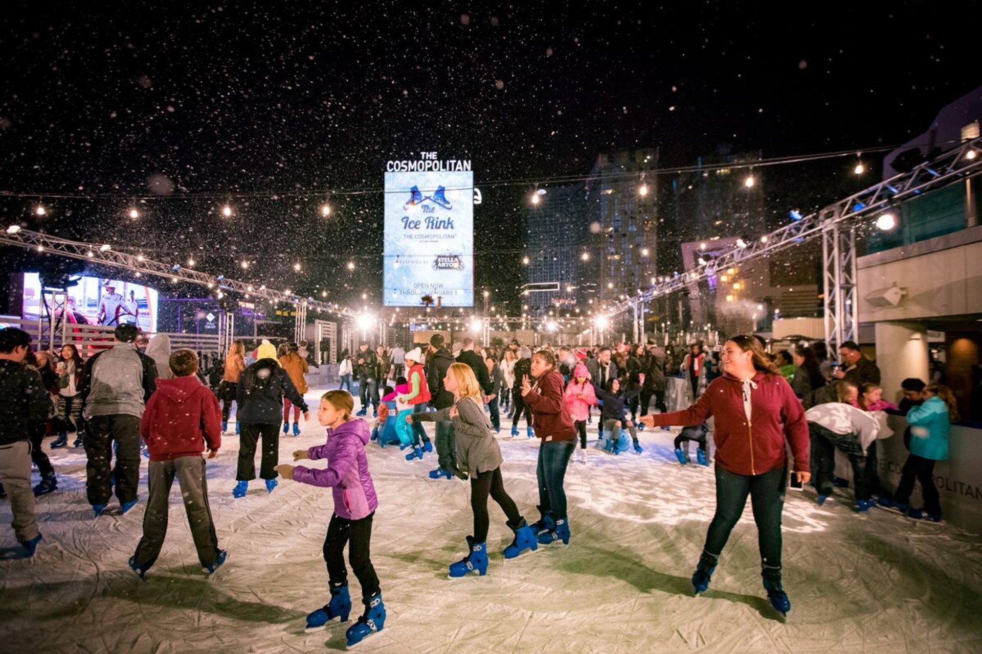 Ice Rink at the Cosmopolitan in Las Vegas 2020 - Best Time
