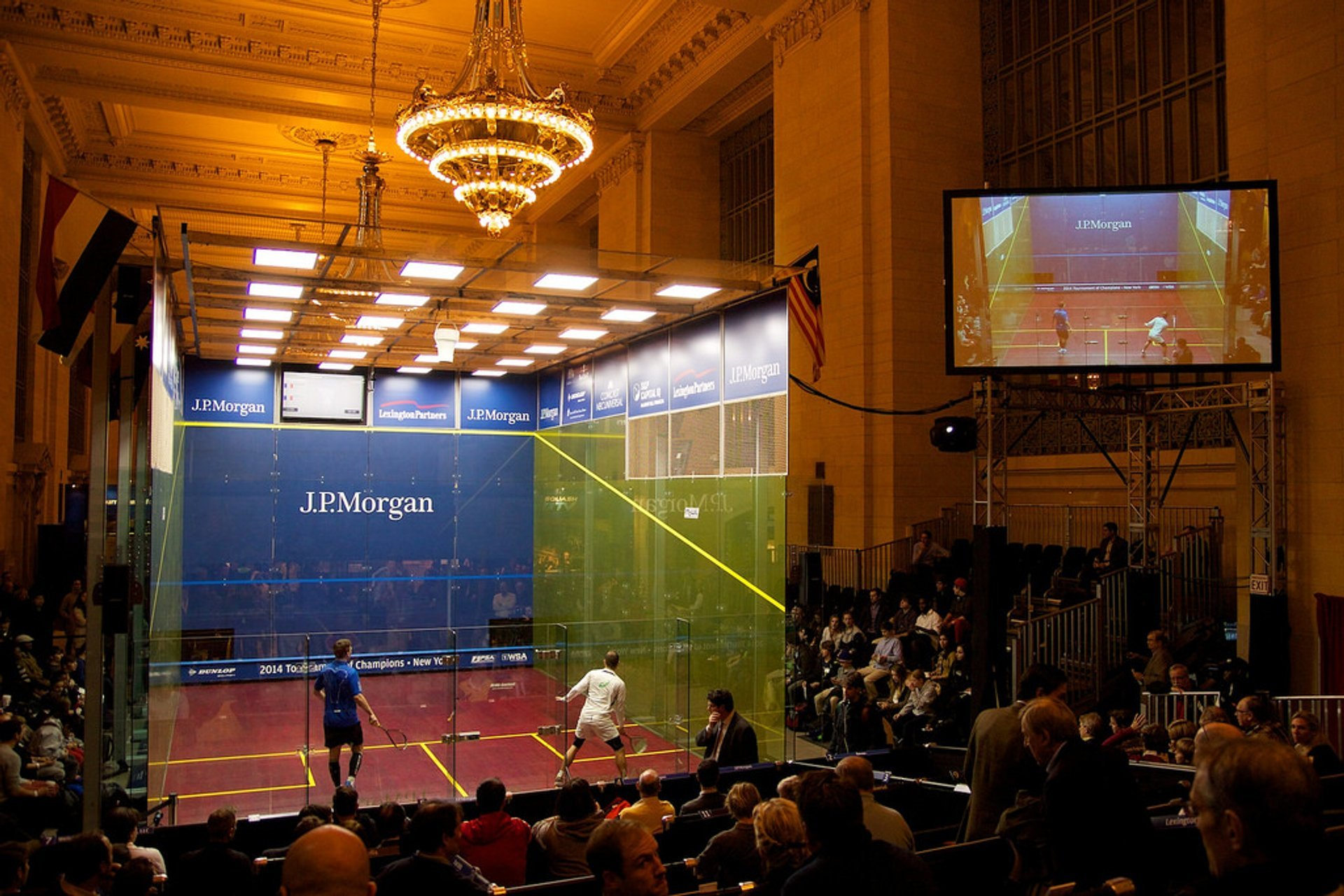 Tournament of Champions Squash in New York 2020 - Best Time