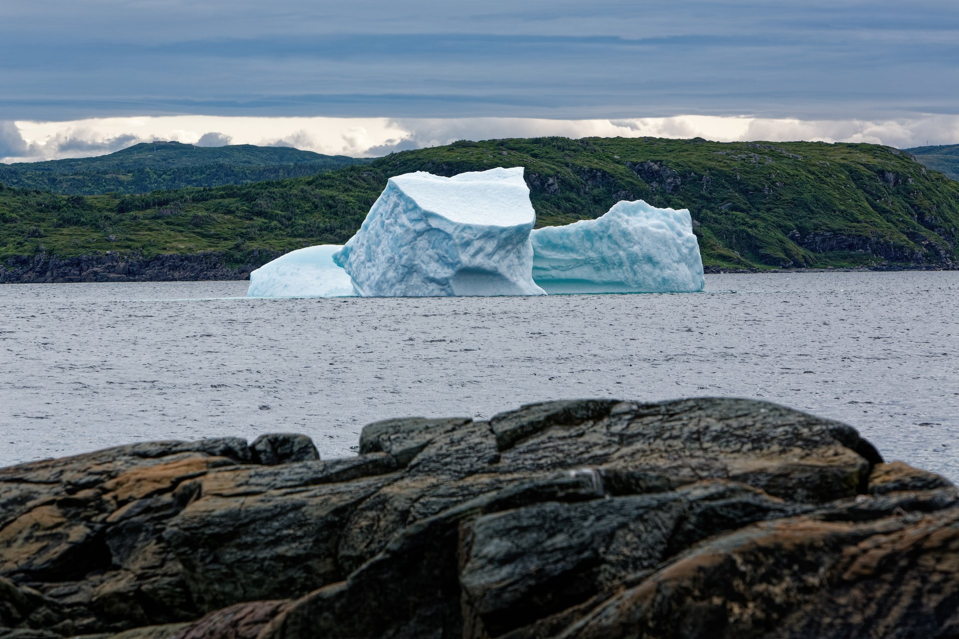 Iceberg in St. Anthony Bight 2020