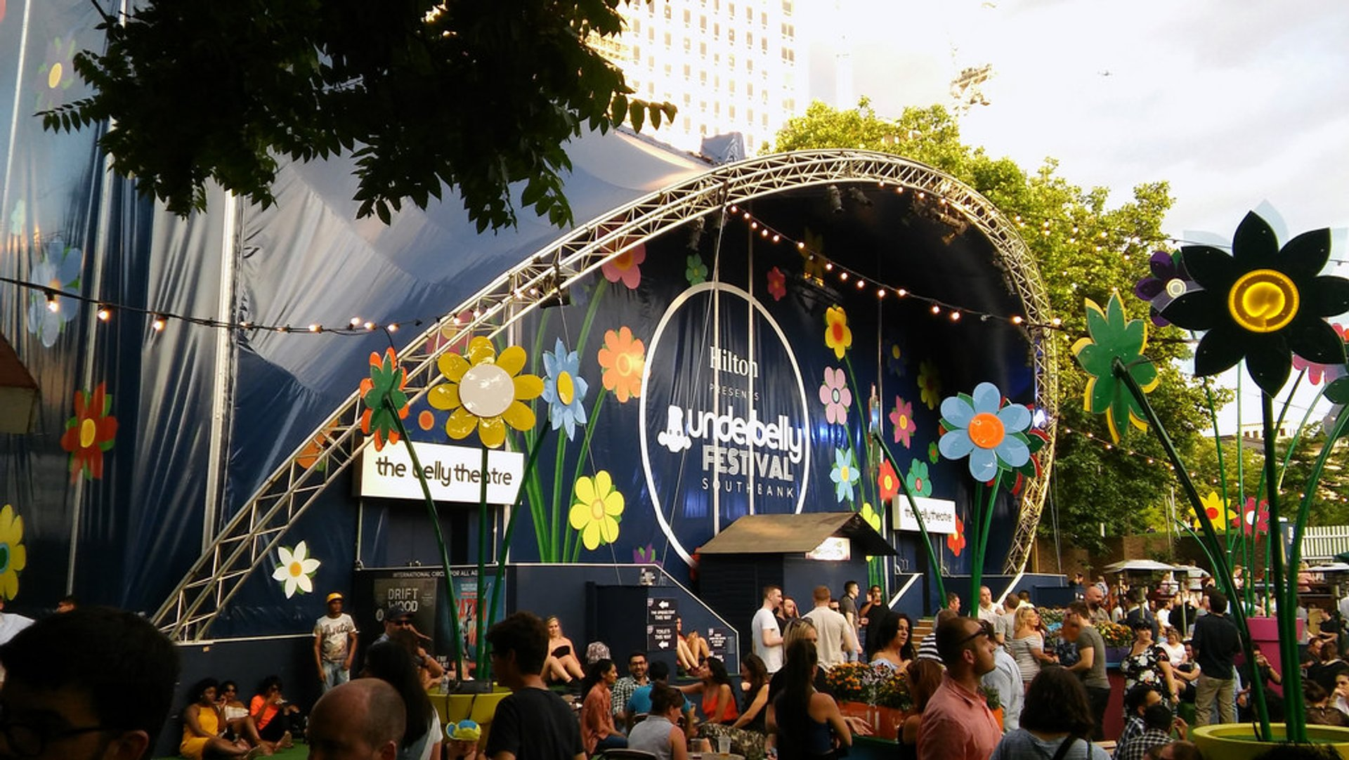 Underbelly Festival Southbank in London 2020 - Best Time