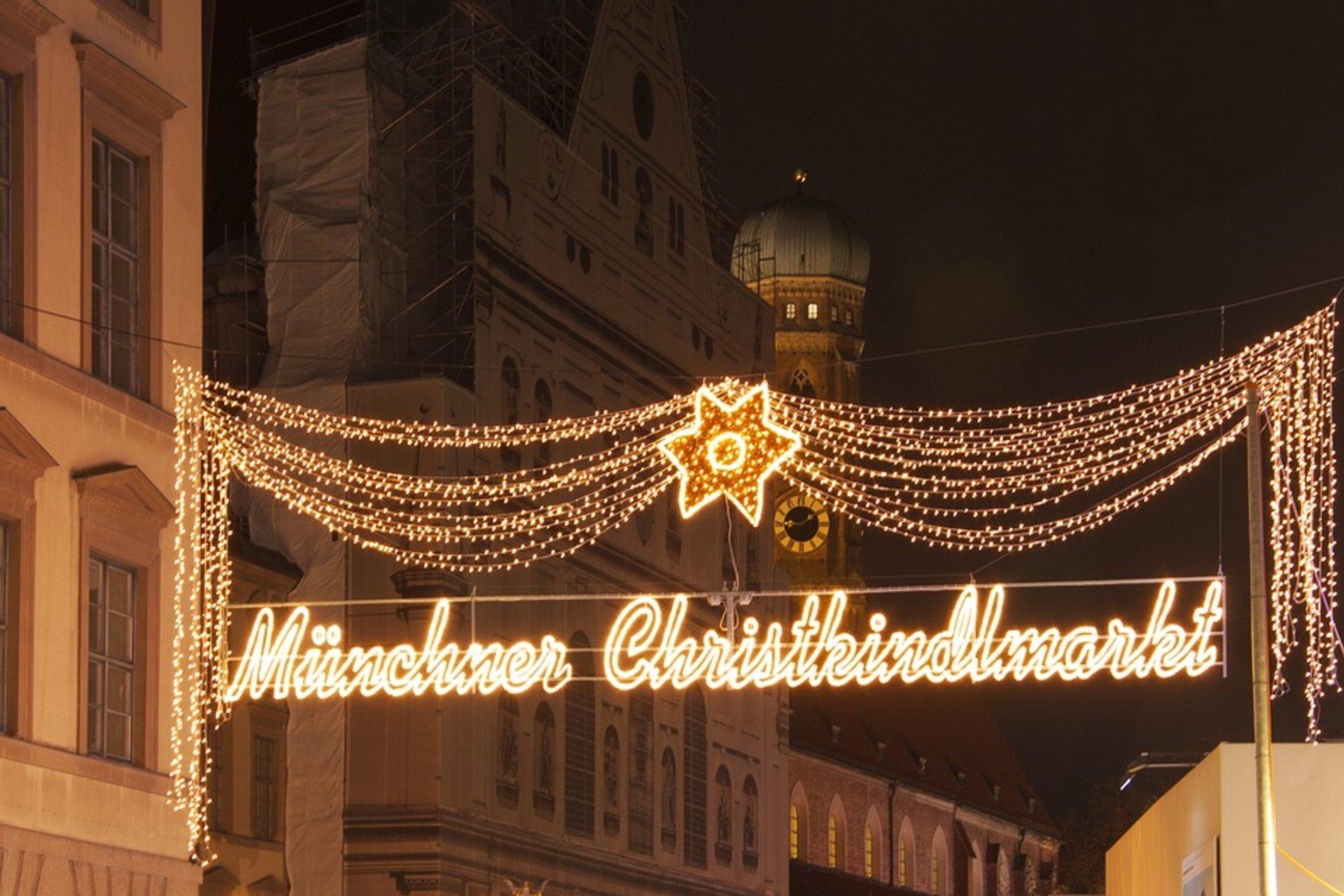 Münchner Christkindlmarkt 2020