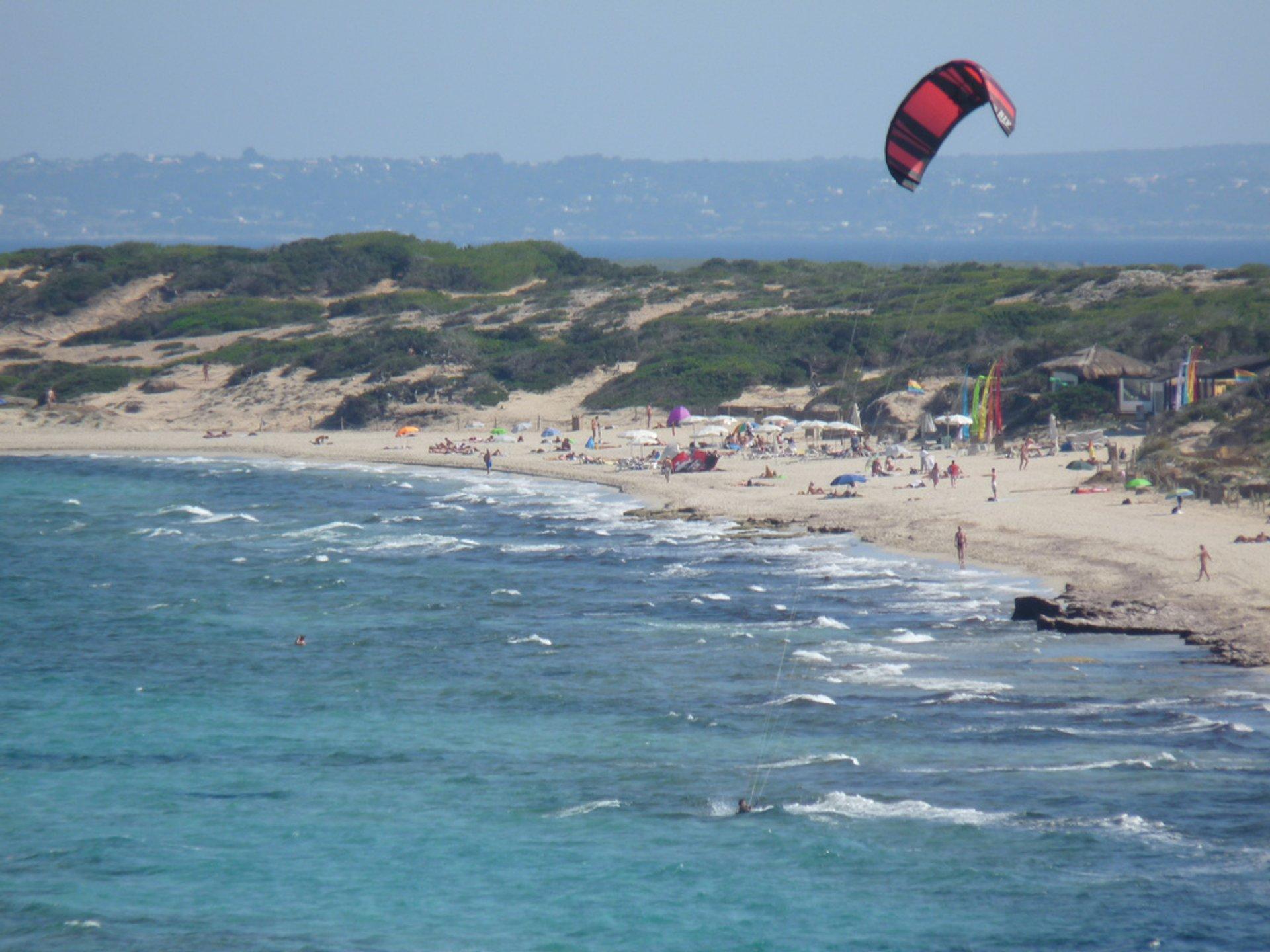 Windsurfing and Kitesurfing in Ibiza - Best Season 2020