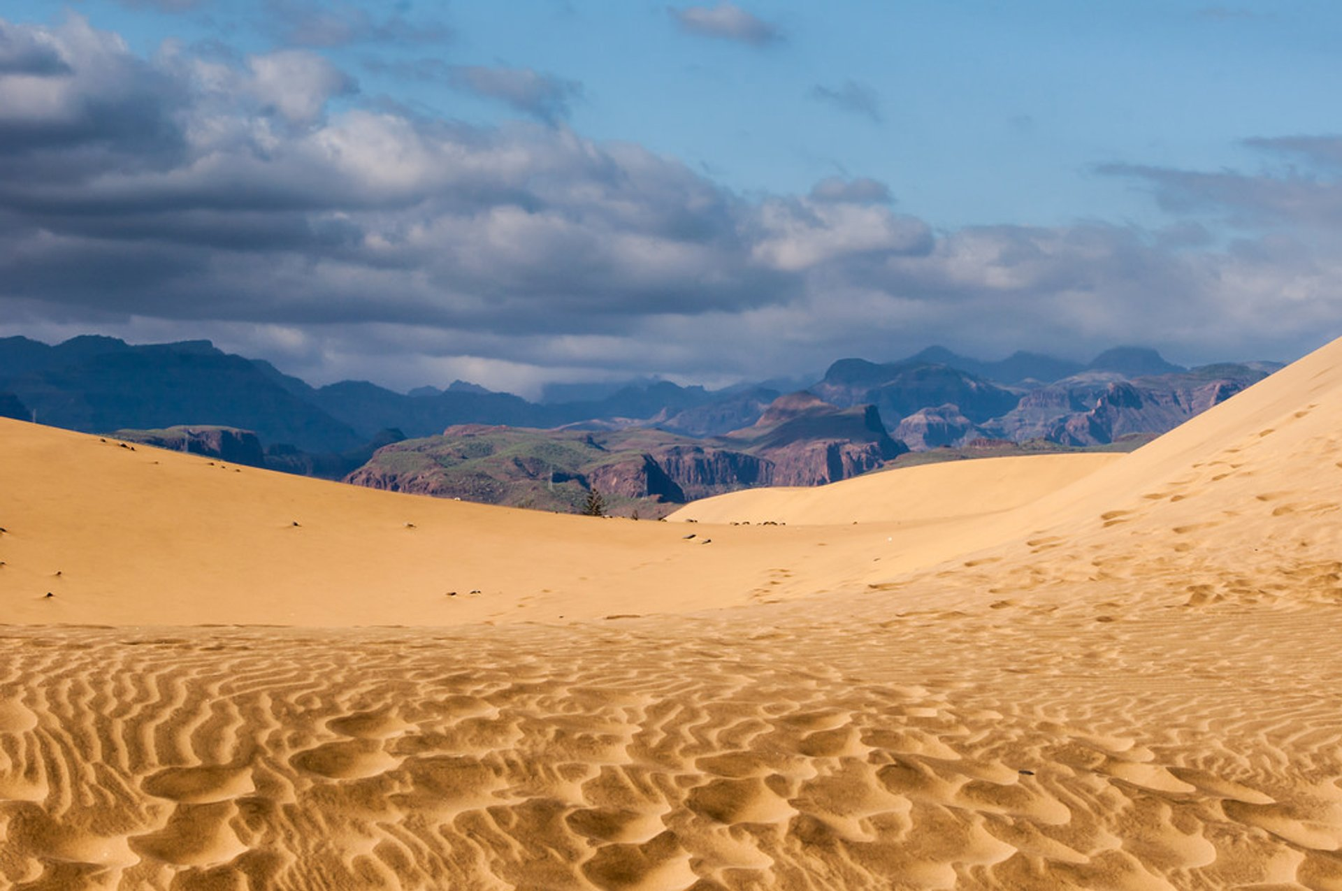 Walking the Maspalomas Dunes in Canary Islands - Best Season 2020