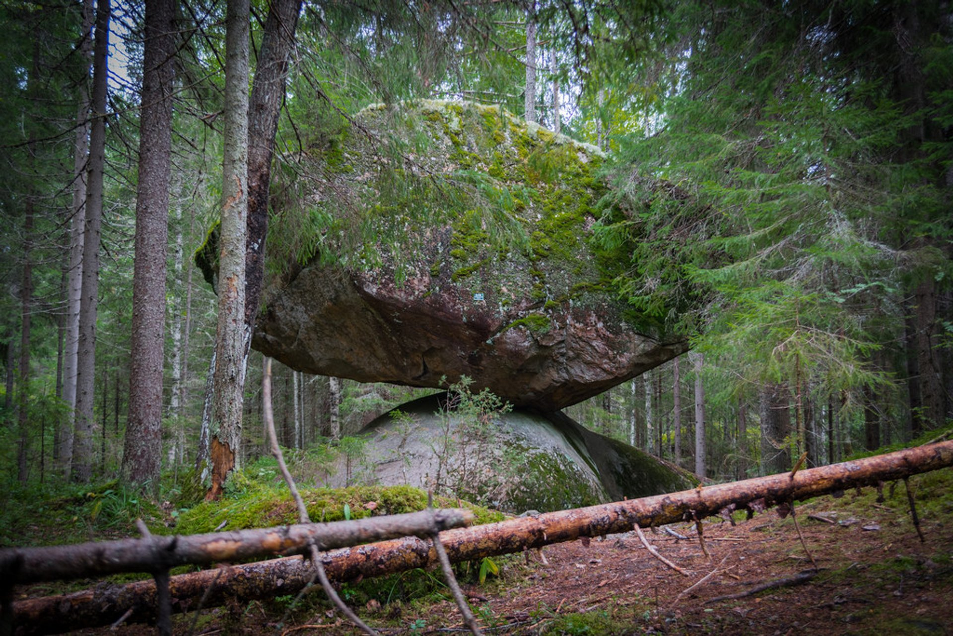 Kummakivi Balancing Rock in Finland 2020 - Best Time