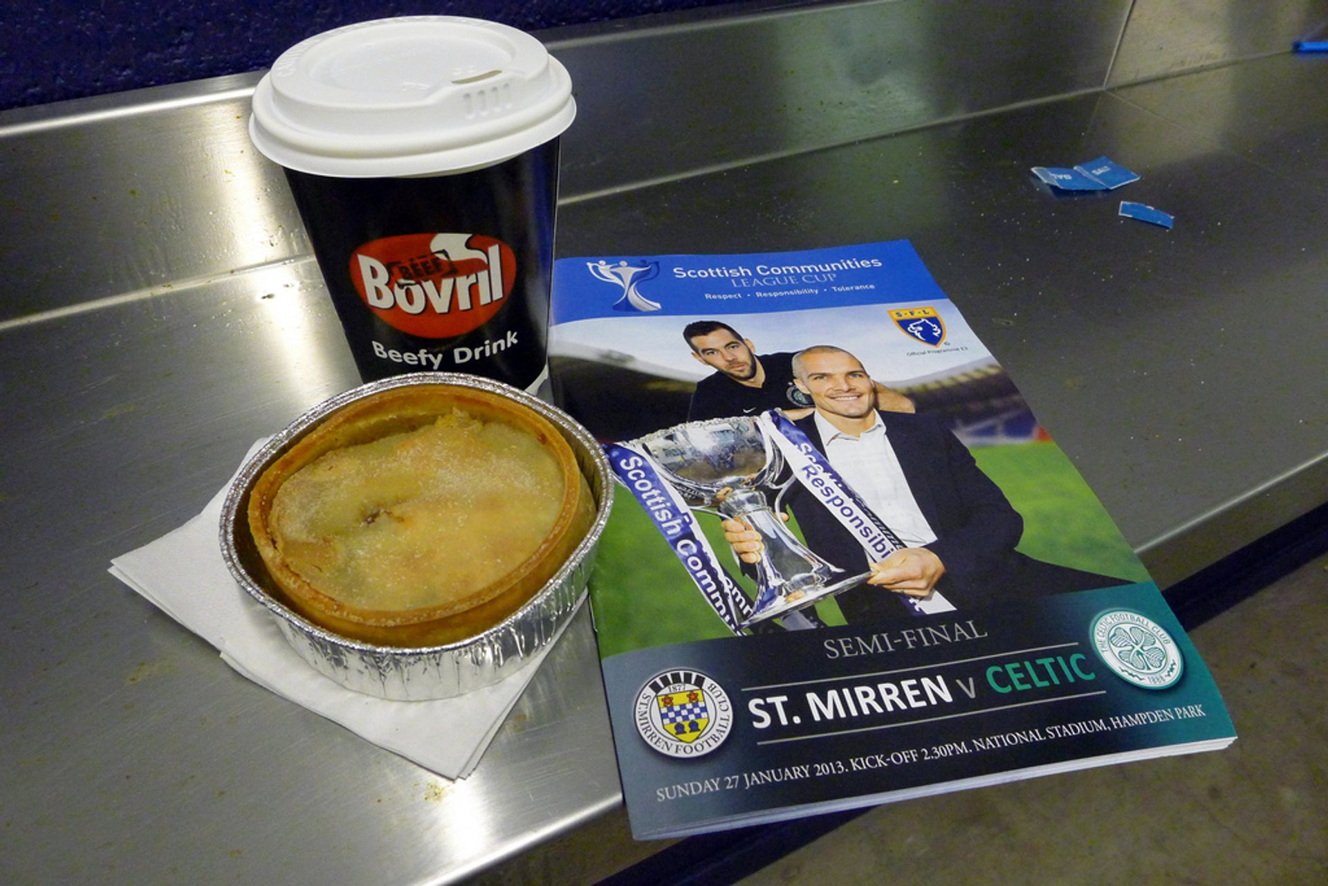 Scotch Pie and Bovril in Scotland - Best Season