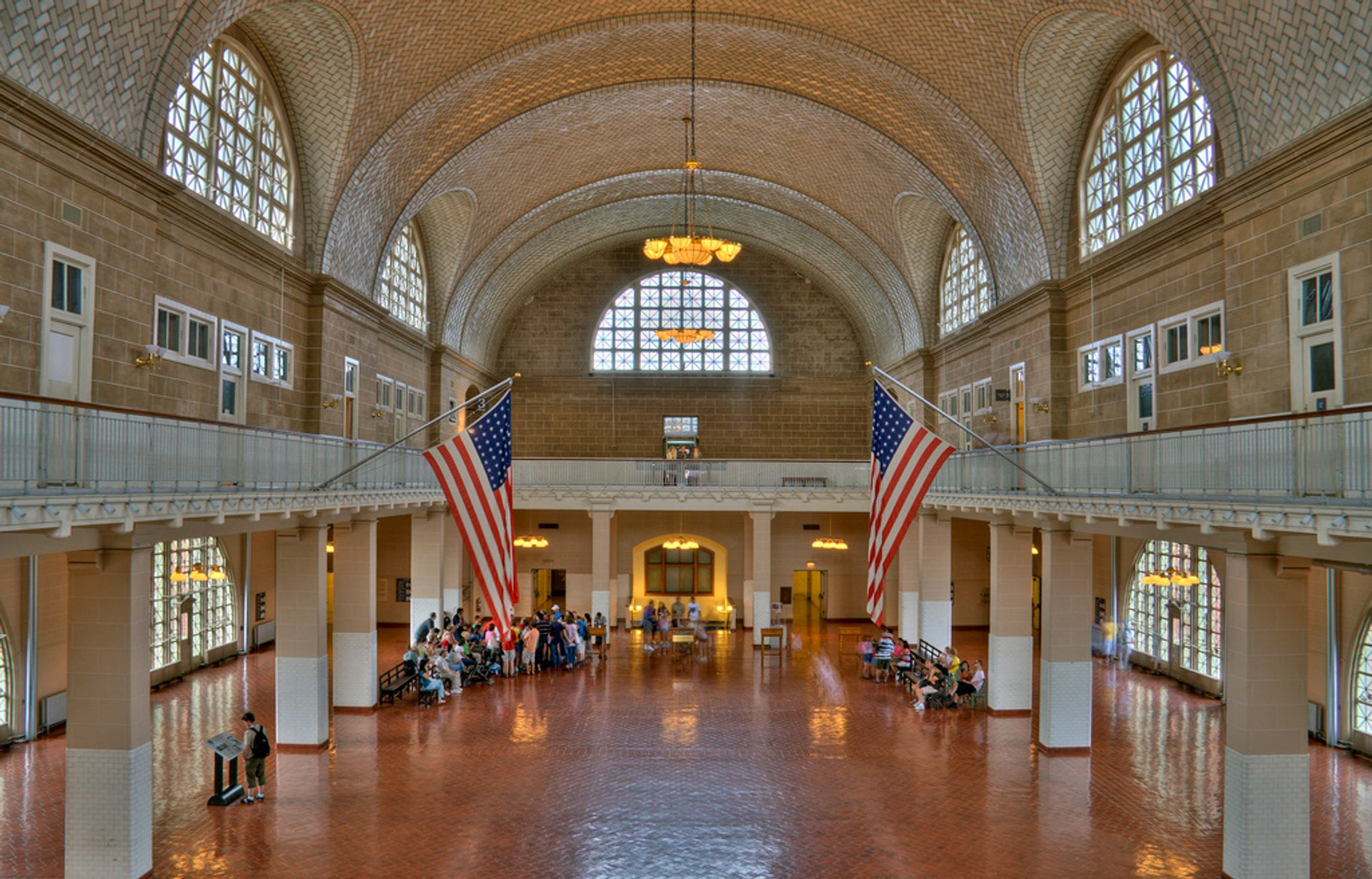 Ellis Island main building 2020