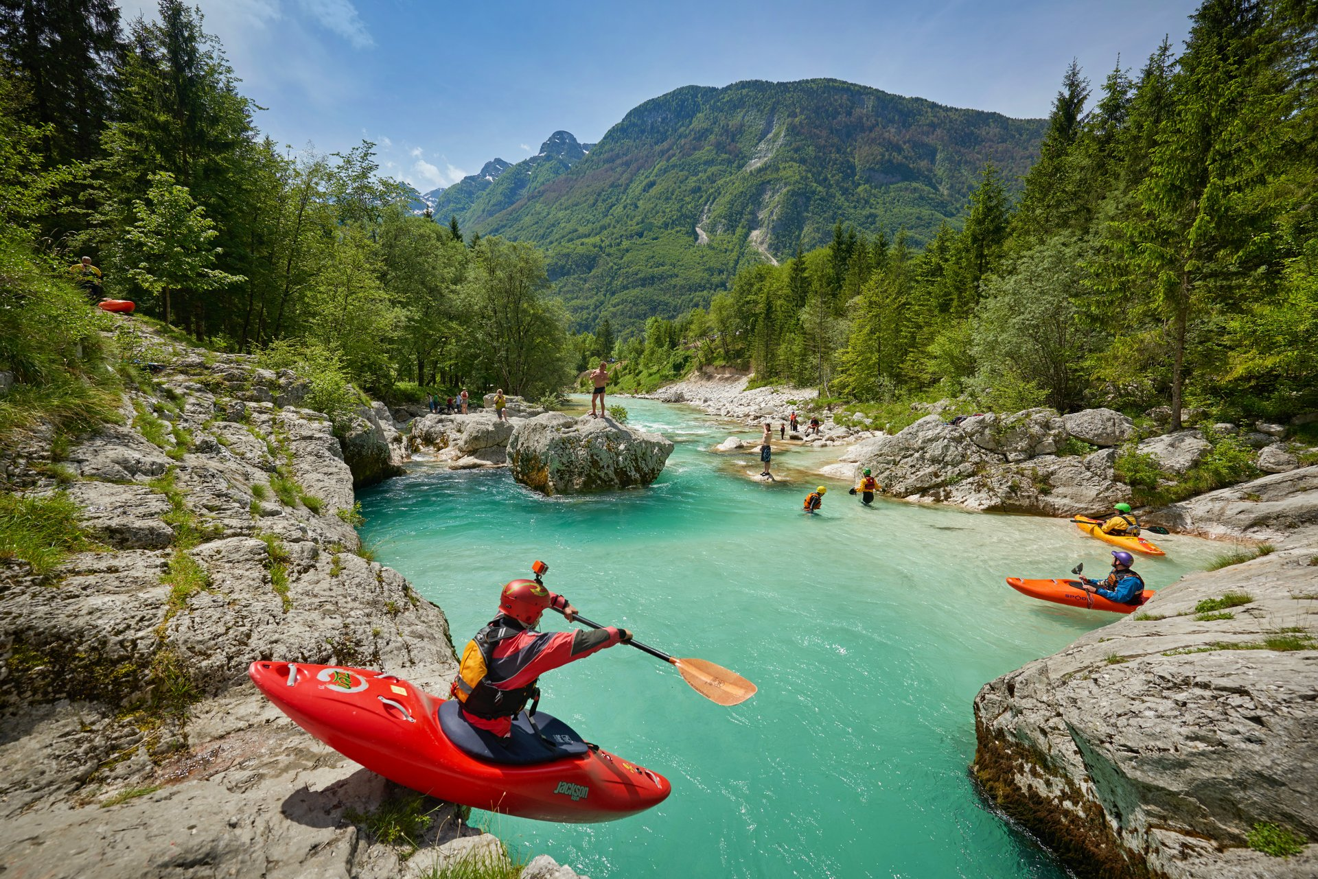 Rafting and Kayaking in Slovenia - Best Time