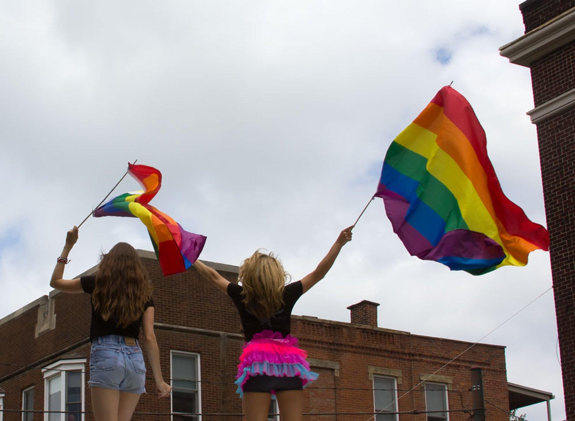 Best time for Columbus Pride in Ohio 2020