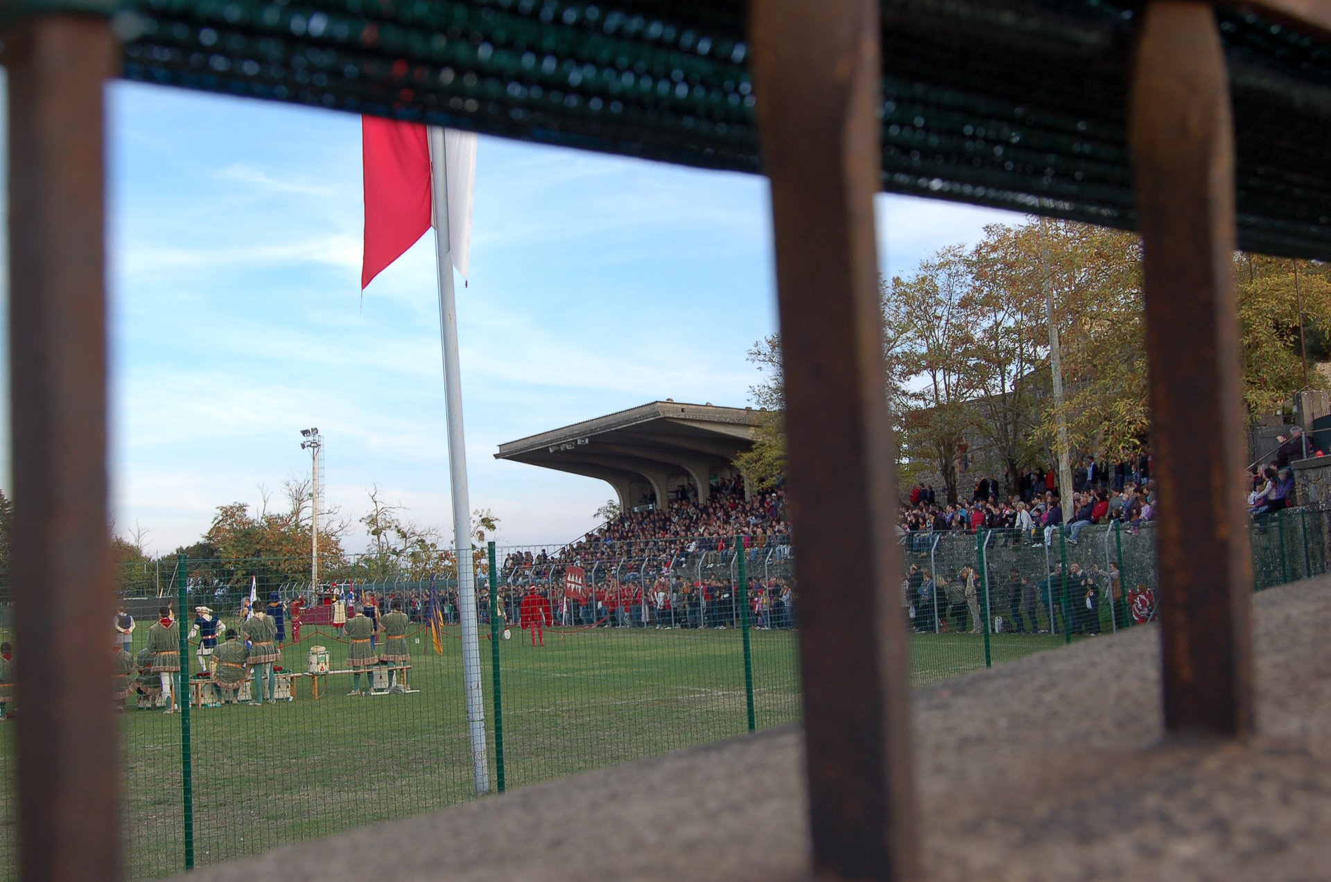 Archery competition at the Sagra del tordo in Montalcino 2020