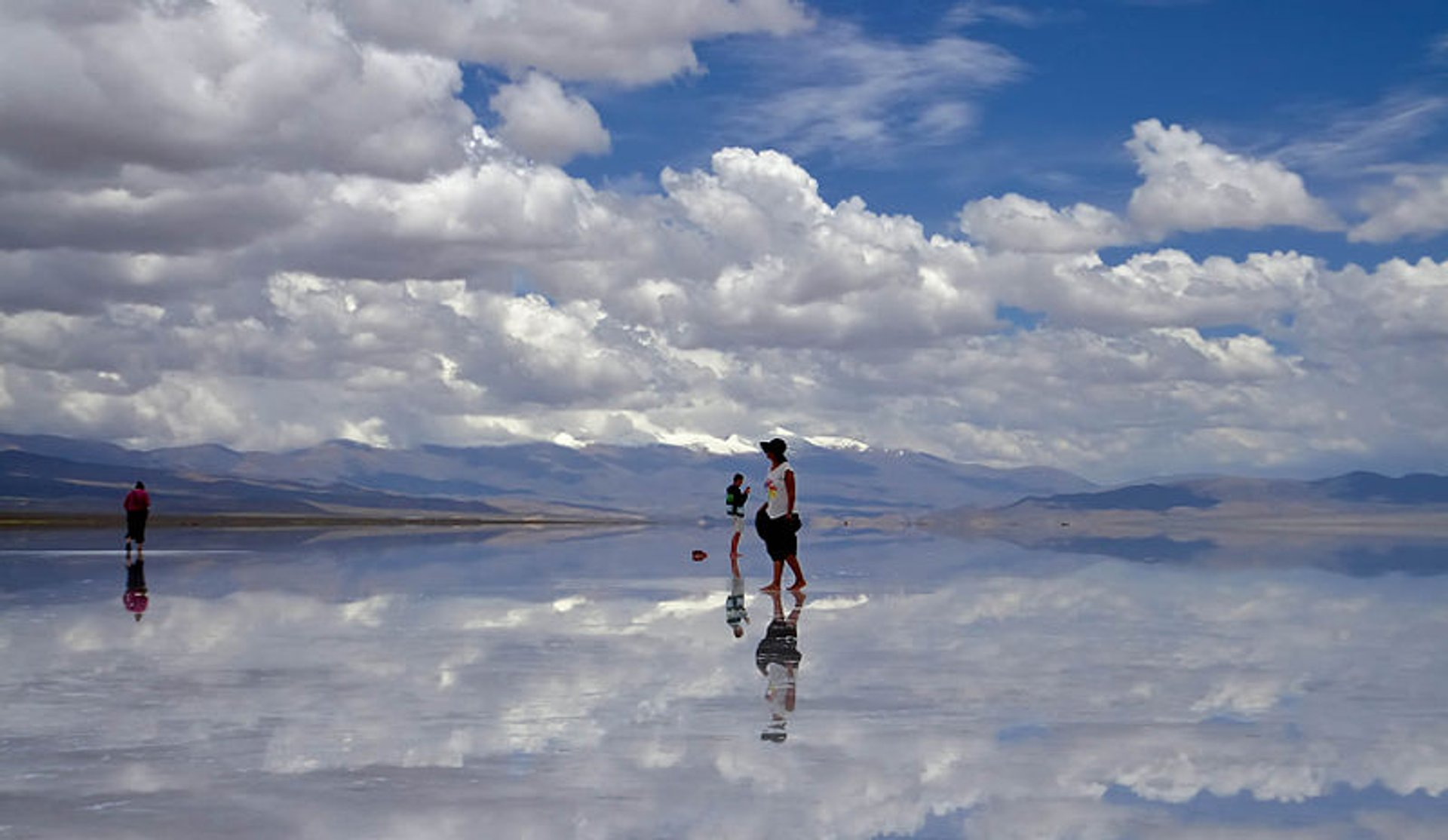 Flooded Salinas Grandes  in Argentina 2019 - Best Time
