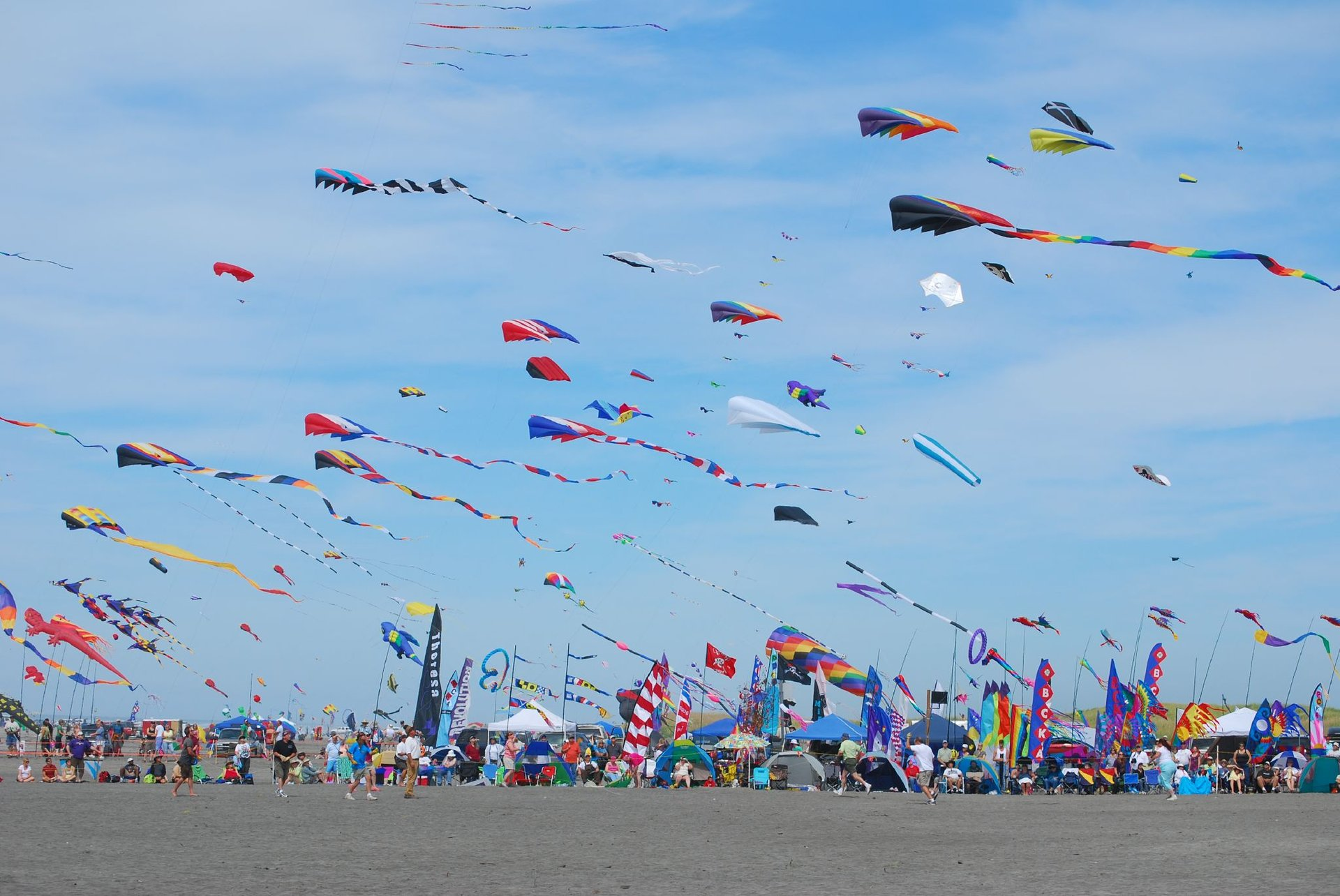 Best time for Washington State International Kite Festival in Seattle 2020