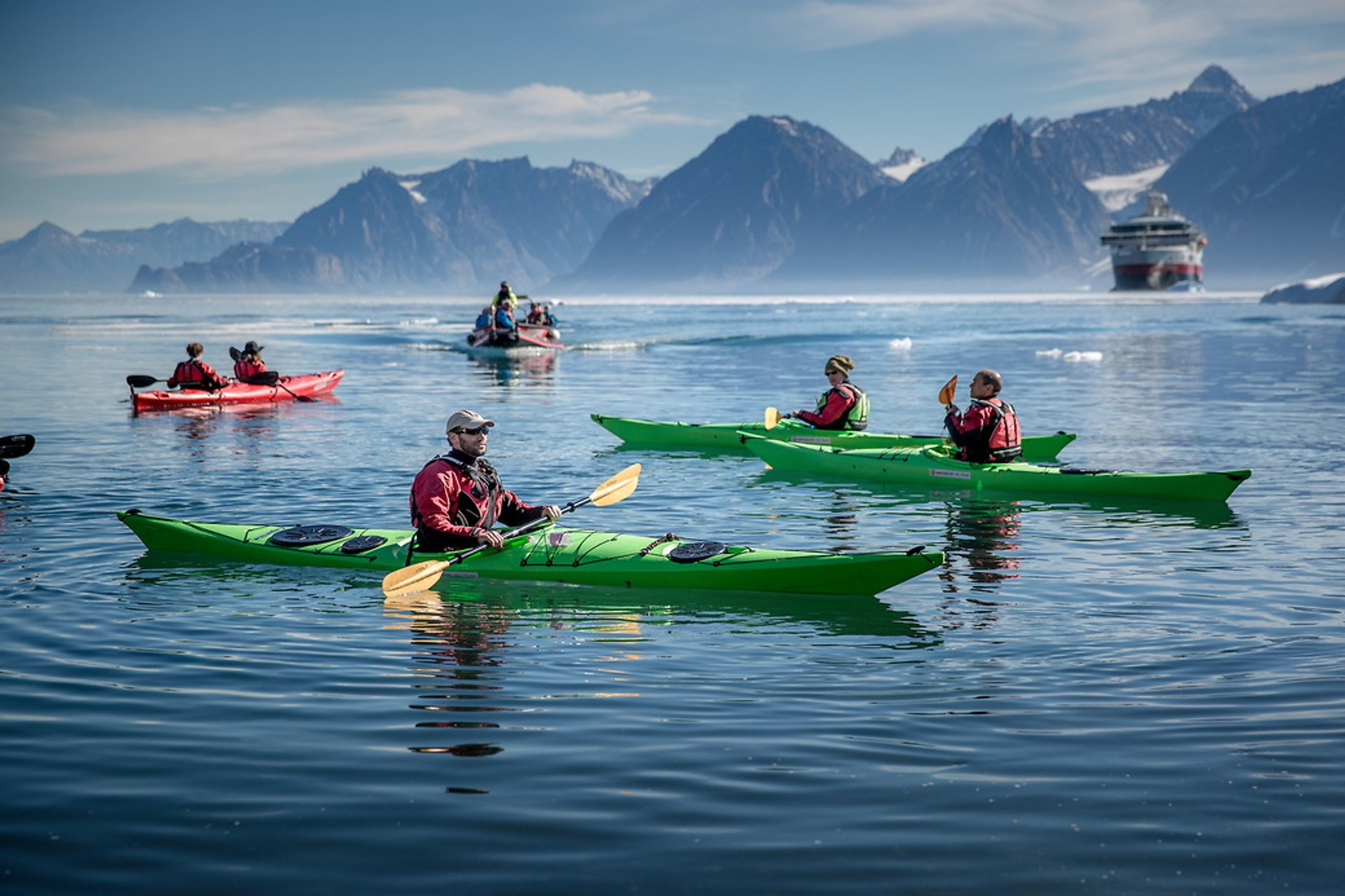Kayaking in Greenland 2020 - Best Time