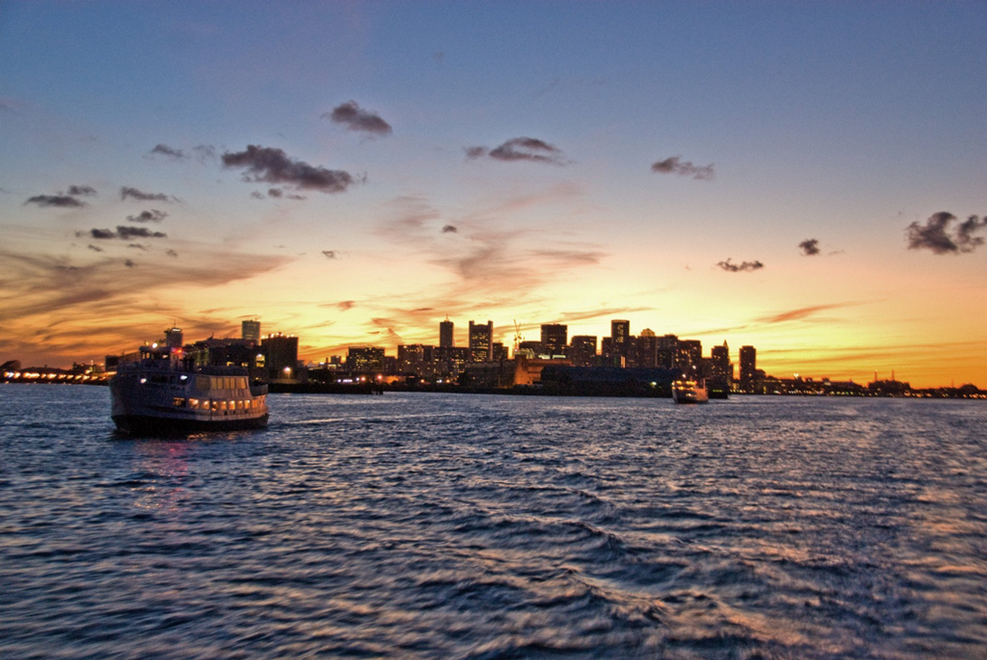 Boston Harbor Cruises in Boston - Best Season