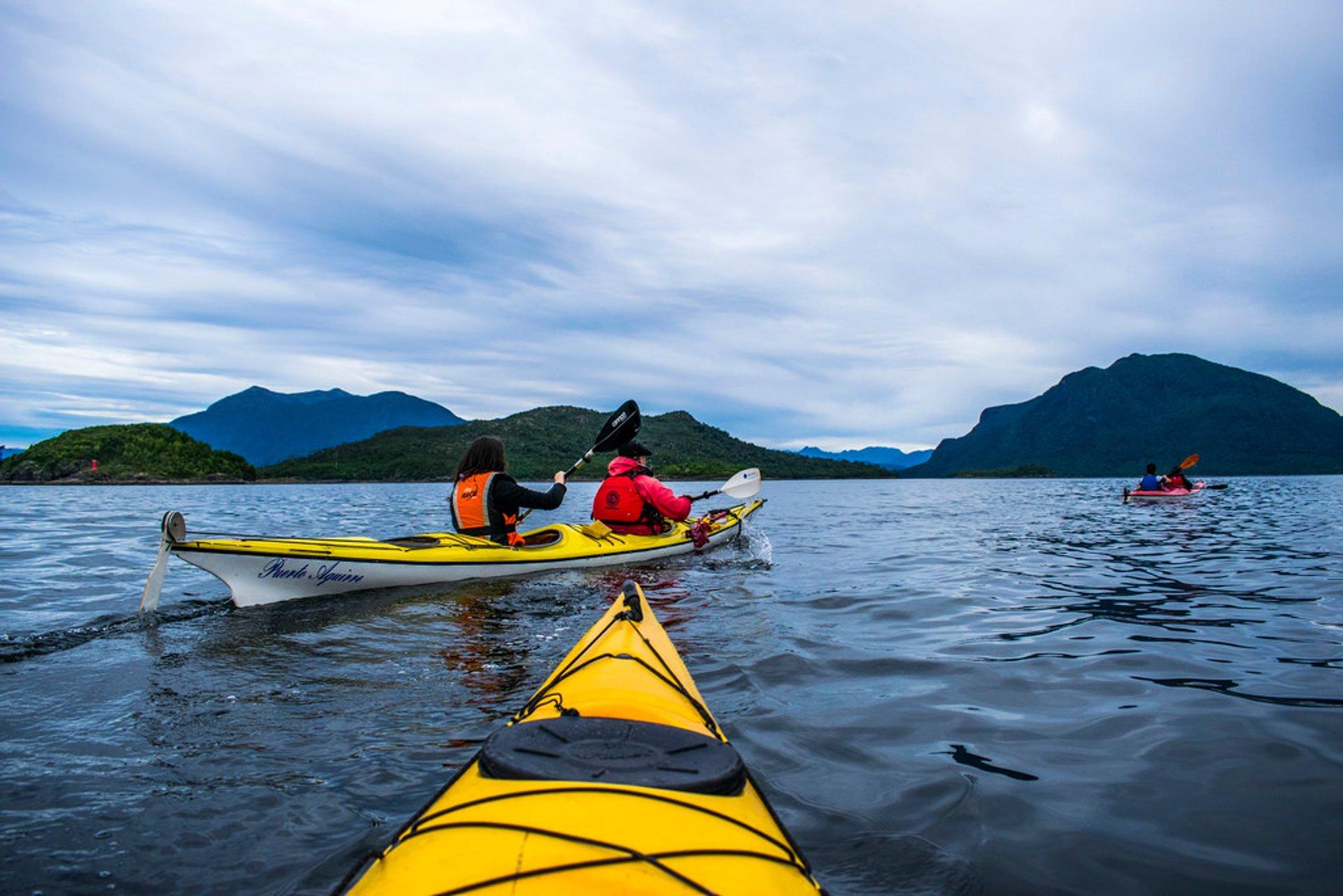 Kayaking in Patagonia 2019 - Best Time