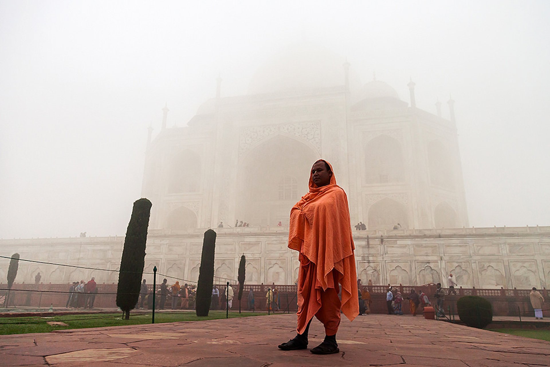 Winter in Taj Mahal and Agra  2020 - Best Time