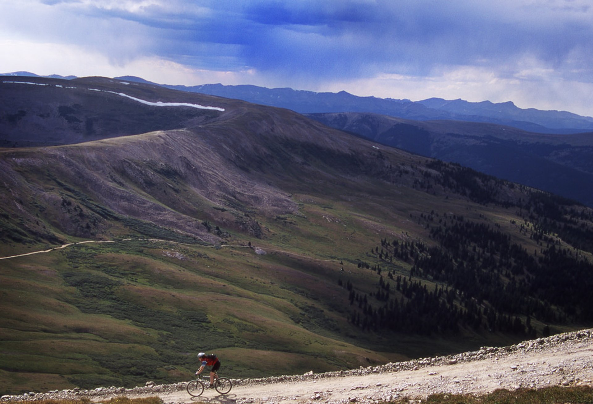 In the midst of a 3,000 foot descent, including Mosquito Pass and Birdseye Gulch 2019
